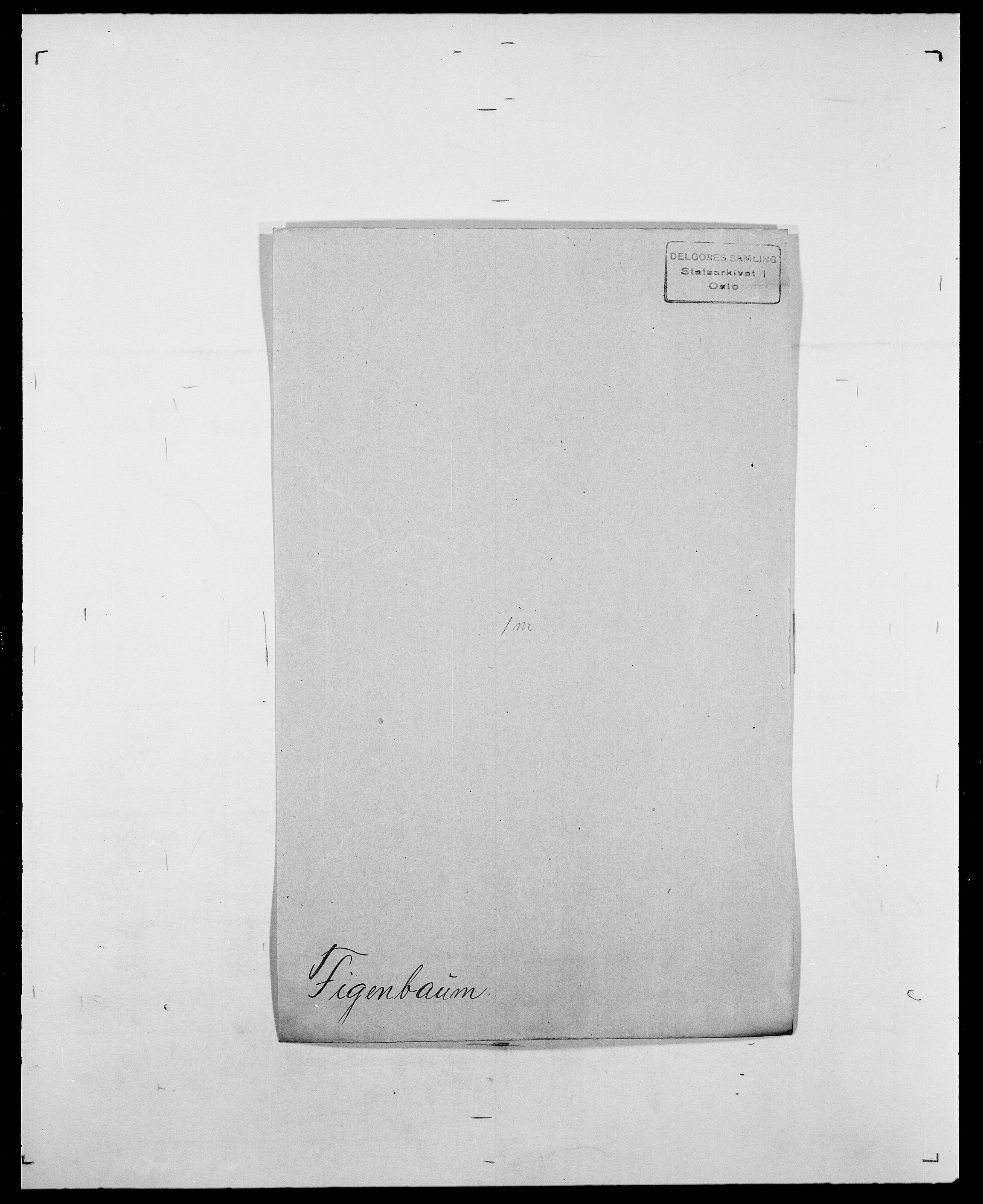 SAO, Delgobe, Charles Antoine - samling, D/Da/L0011: Fahlander - Flood, Flod, s. 423