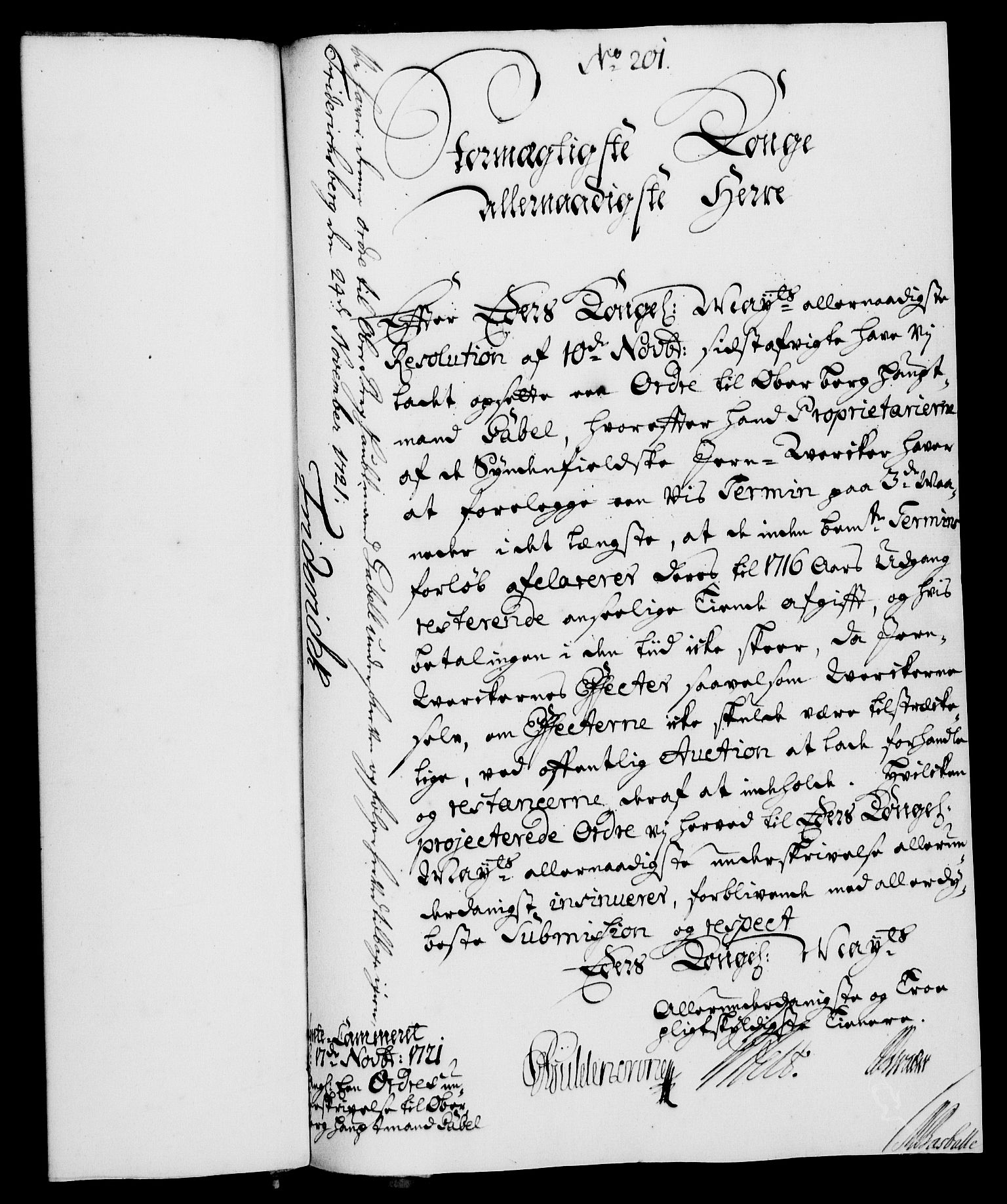 RA, Rentekammeret, Kammerkanselliet, G/Gf/Gfa/L0004: Norsk relasjons- og resolusjonsprotokoll (merket RK 52.4), 1721, s. 1386