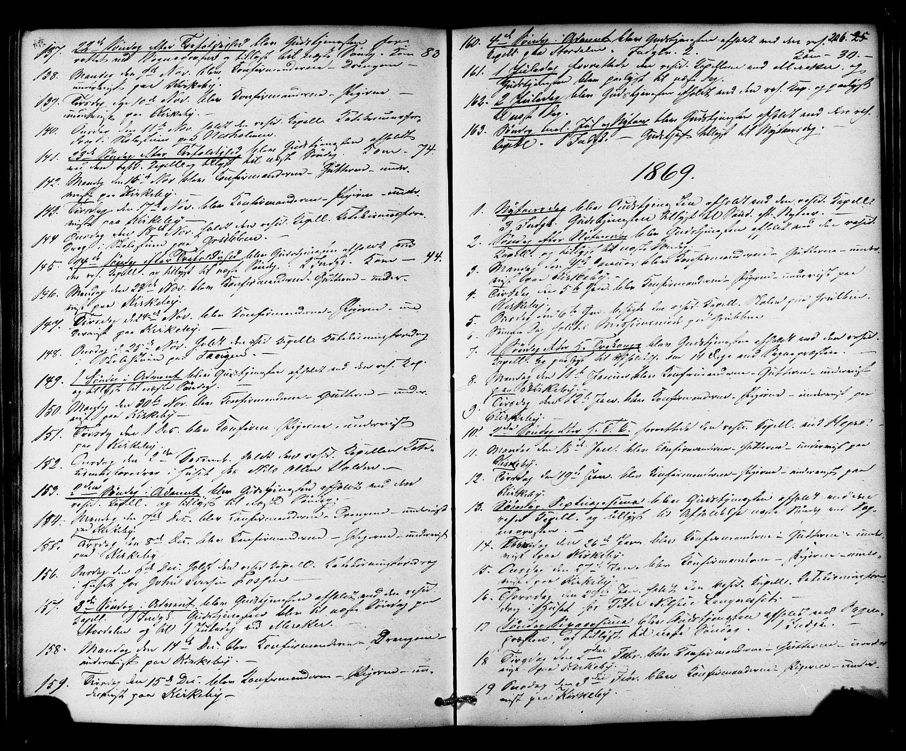 SAT, Ministerialprotokoller, klokkerbøker og fødselsregistre - Nord-Trøndelag, 706/L0041: Ministerialbok nr. 706A02, 1862-1877, s. 206