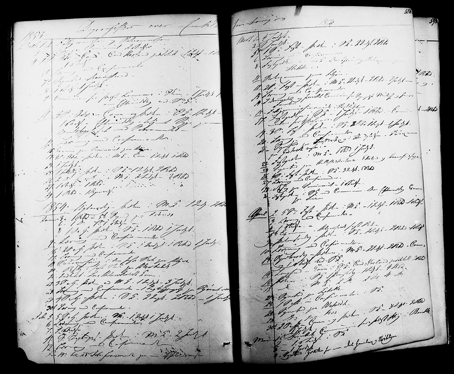 SAKO, Solum kirkebøker, F/Fa/L0006: Ministerialbok nr. I 6, 1844-1855, s. 586