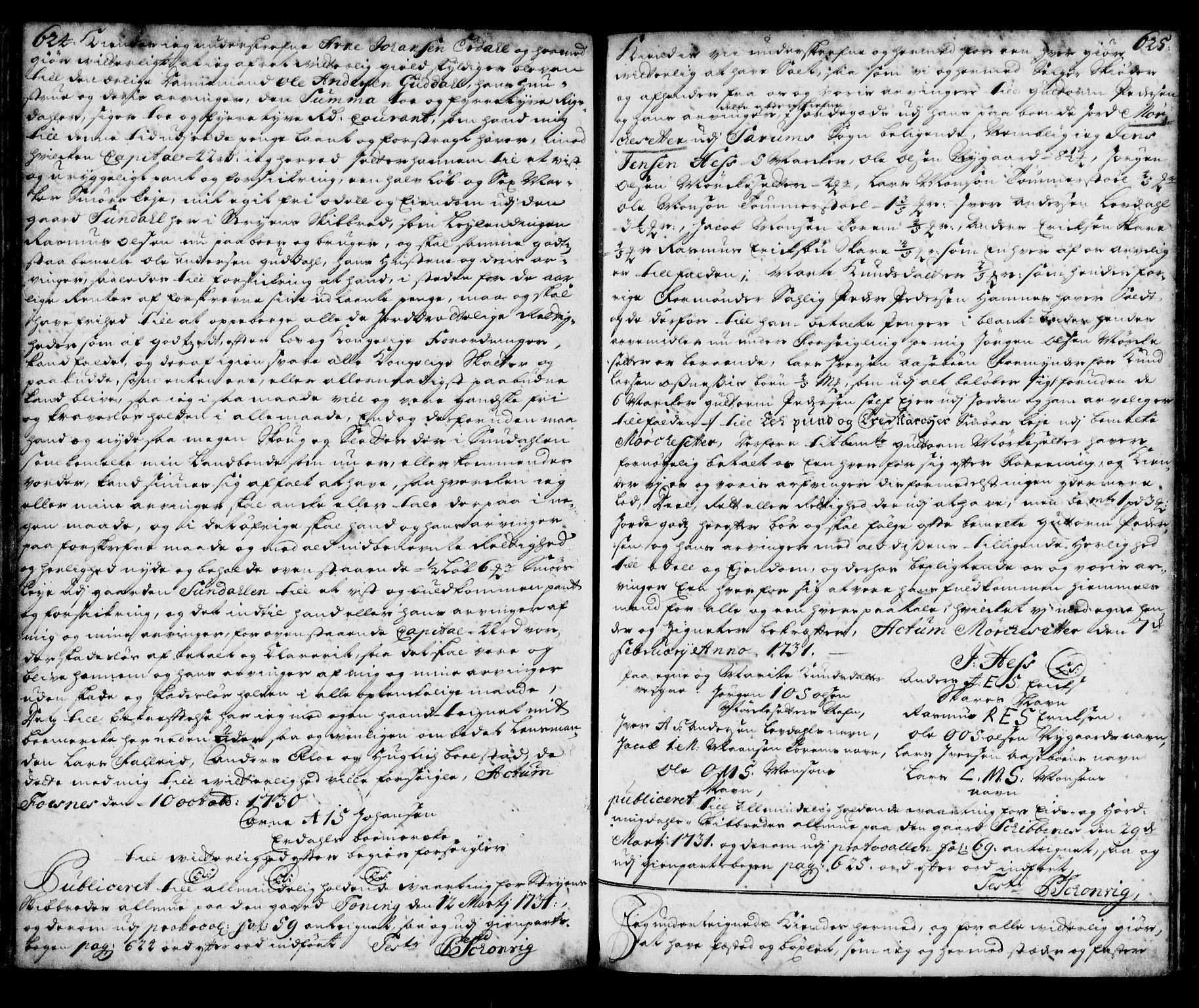 SAB, Nordfjord sorenskriveri, 02/02b/02ba/L0003: Pantebok nr. II.B.a.3, 1723-1733, s. 624-625