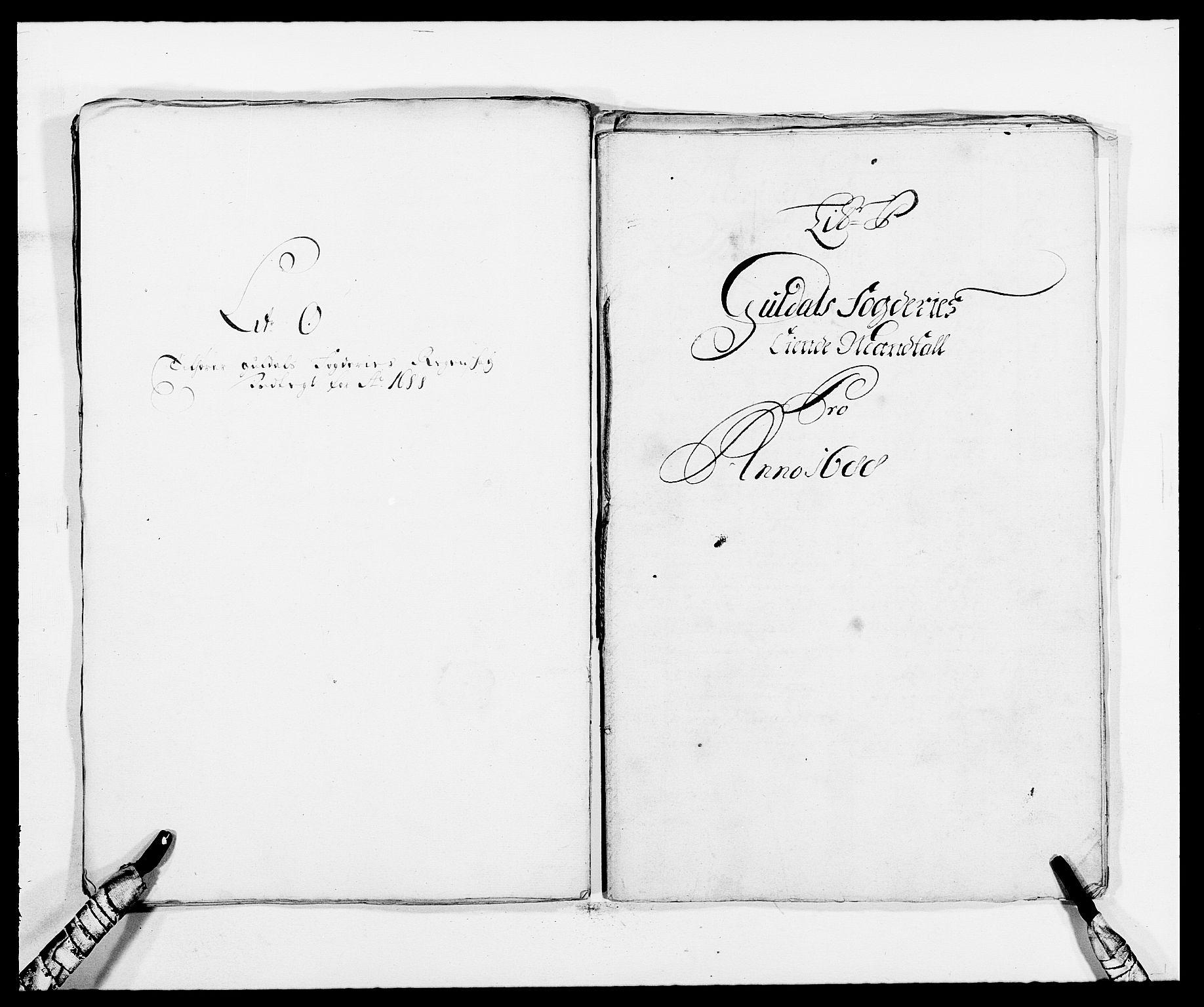 RA, Rentekammeret inntil 1814, Reviderte regnskaper, Fogderegnskap, R59/L3939: Fogderegnskap Gauldal, 1687-1688, s. 281