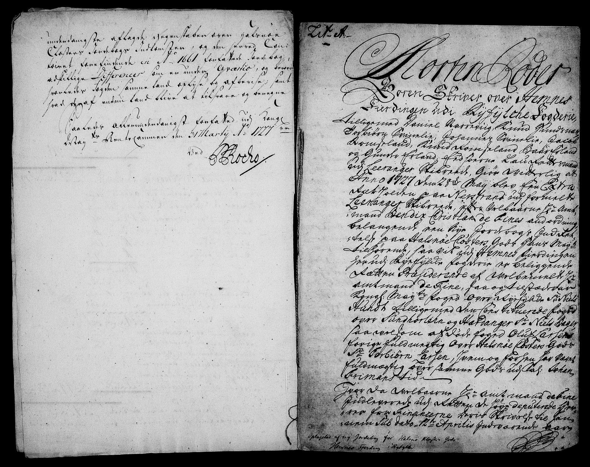 RA, Rentekammeret inntil 1814, Realistisk ordnet avdeling, On/L0003: [Jj 4]: Kommisjonsforretning over Vilhelm Hanssøns forpaktning av Halsnøy klosters gods, 1721-1729, s. 231