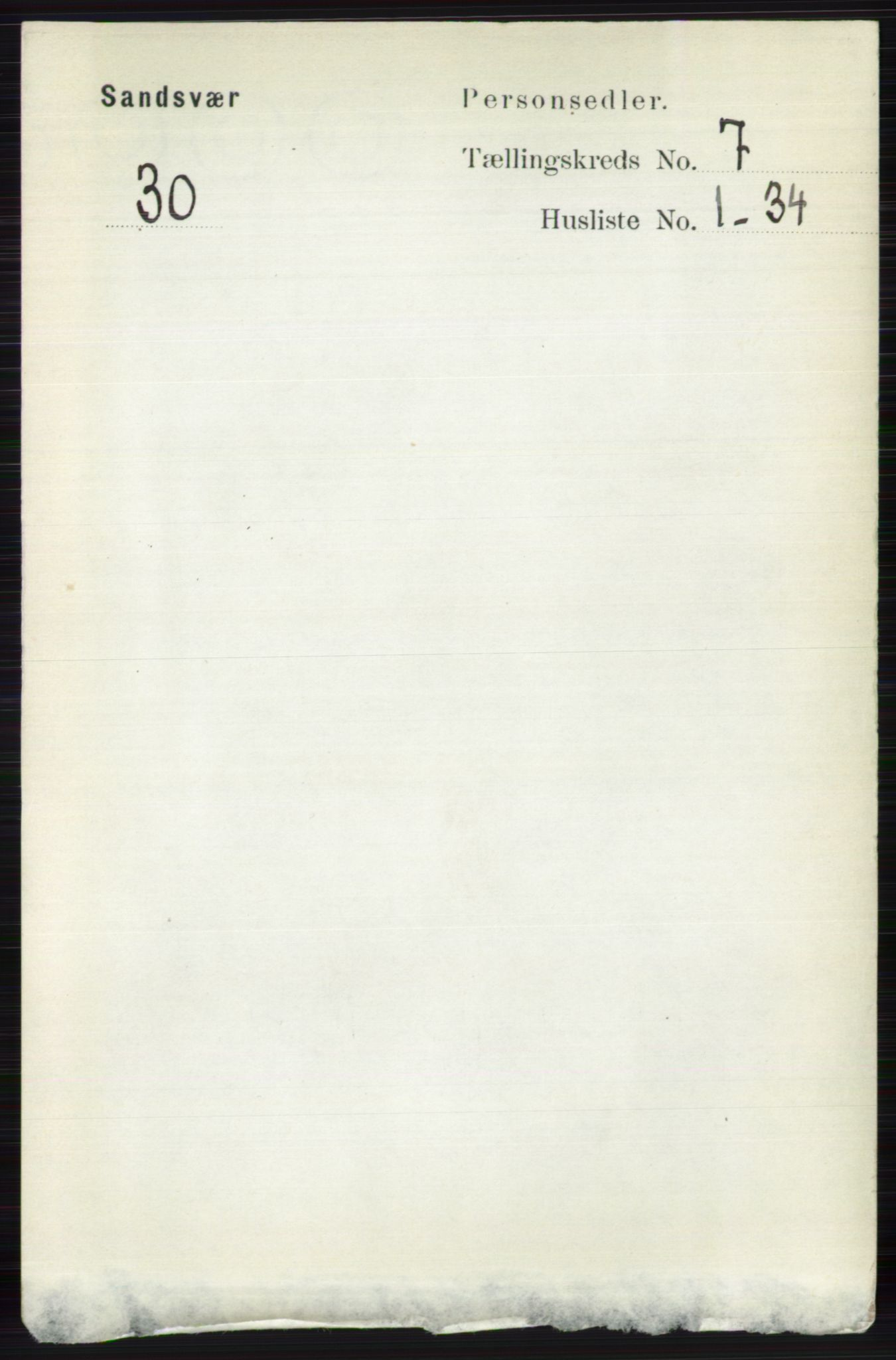 RA, Folketelling 1891 for 0629 Sandsvær herred, 1891, s. 3982