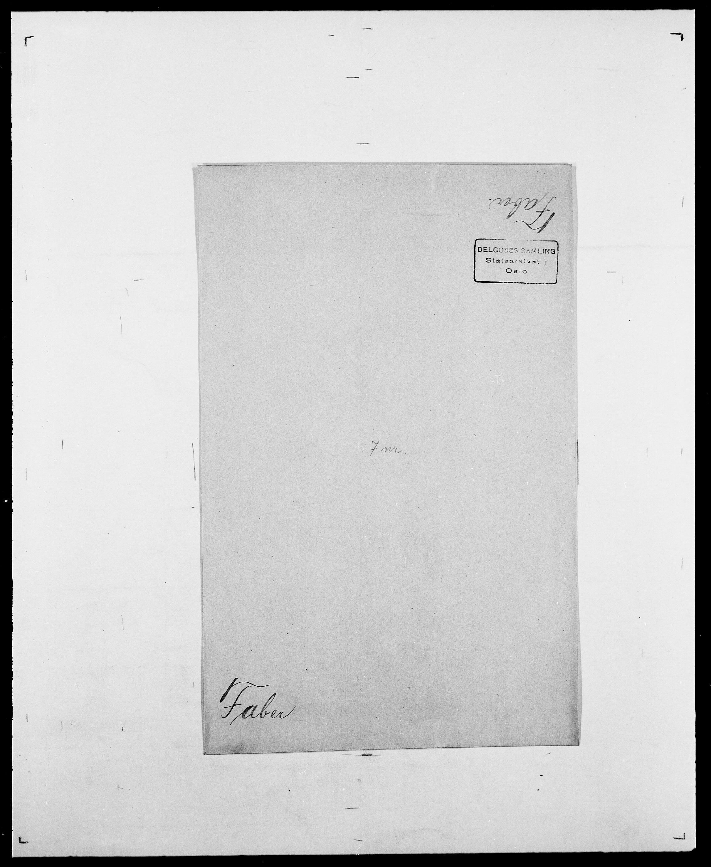 SAO, Delgobe, Charles Antoine - samling, D/Da/L0010: Dürendahl - Fagelund, s. 714