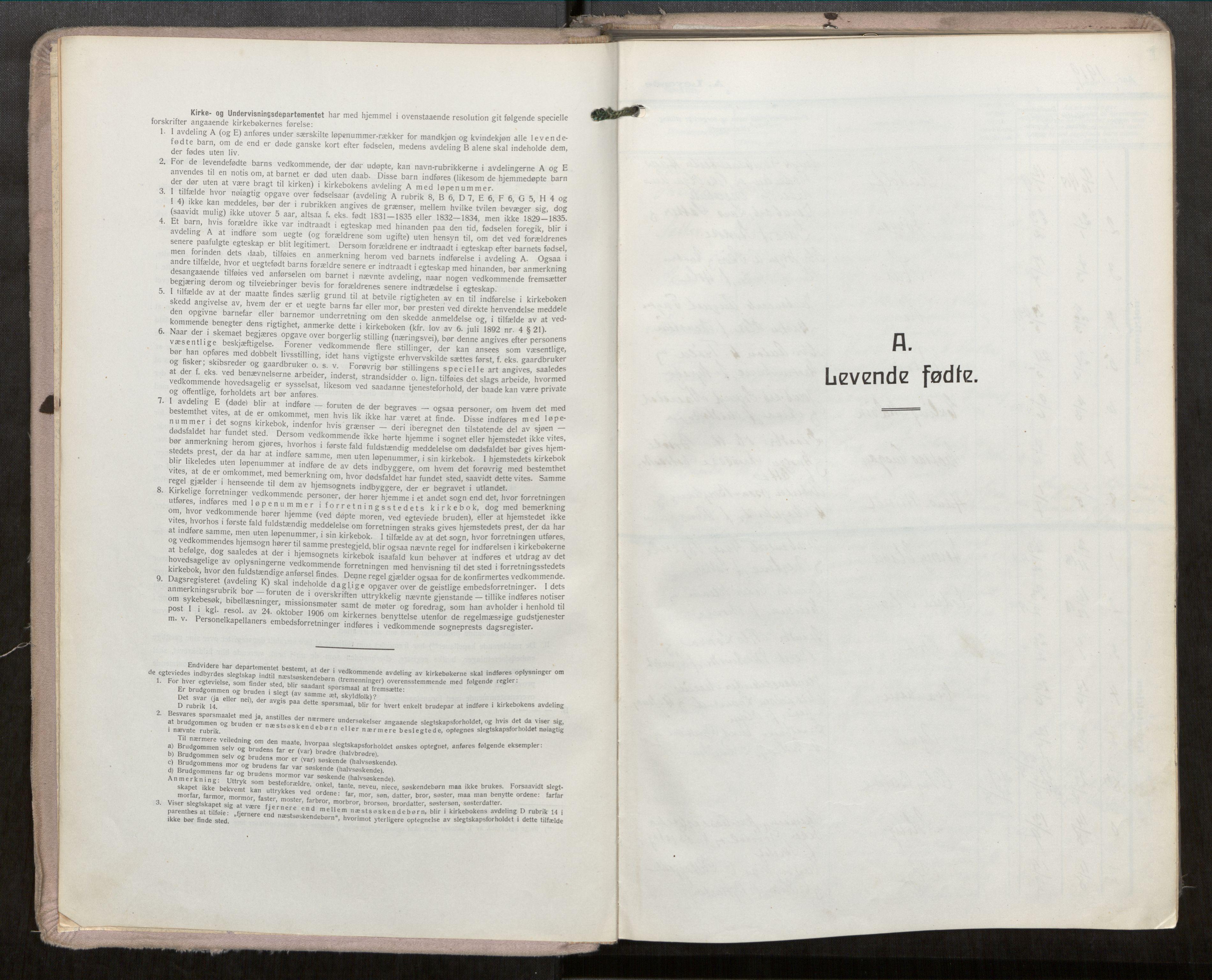 SAT, Grytten sokneprestkontor, Ministerialbok nr. 546A04, 1919-1956
