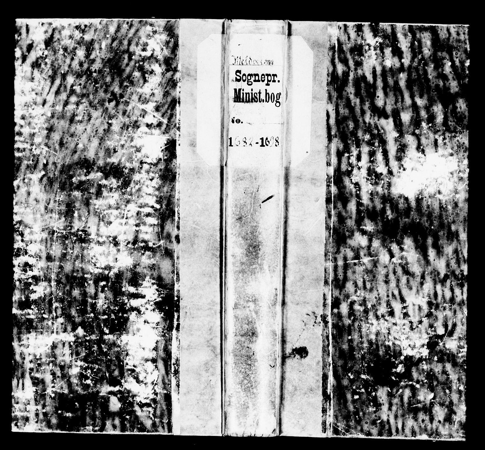 SAT, Ministerialprotokoller, klokkerbøker og fødselsregistre - Sør-Trøndelag, 672/L0848: Ministerialbok nr. 672A01, 1682-1698