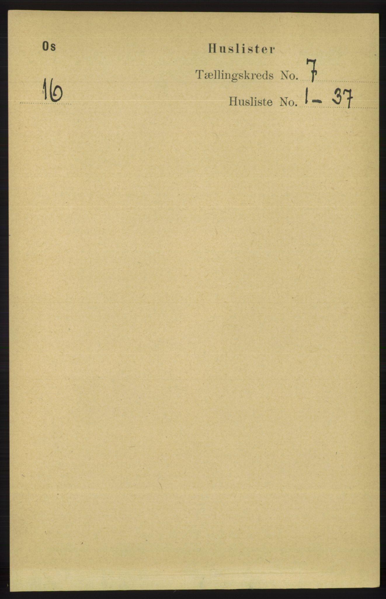 RA, Folketelling 1891 for 1243 Os herred, 1891, s. 1577
