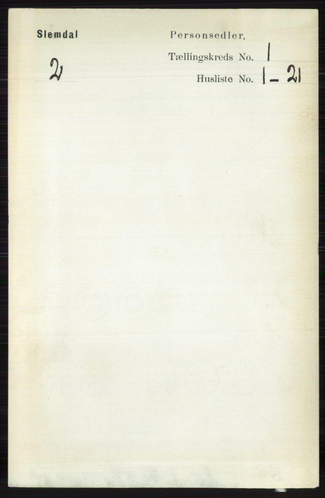 RA, Folketelling 1891 for 0811 Slemdal herred, 1891, s. 55