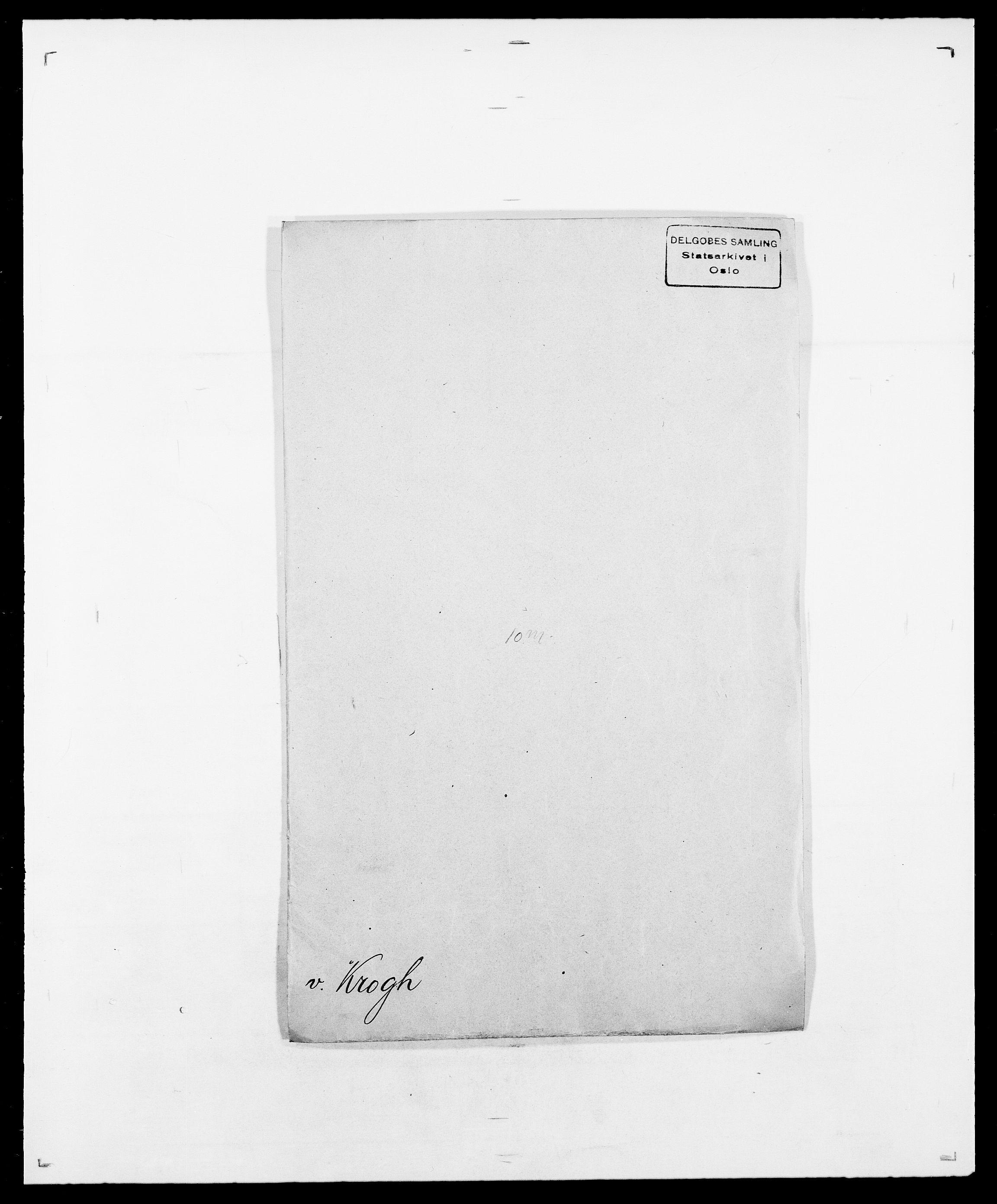 SAO, Delgobe, Charles Antoine - samling, D/Da/L0022: Krog - Lasteen, s. 38