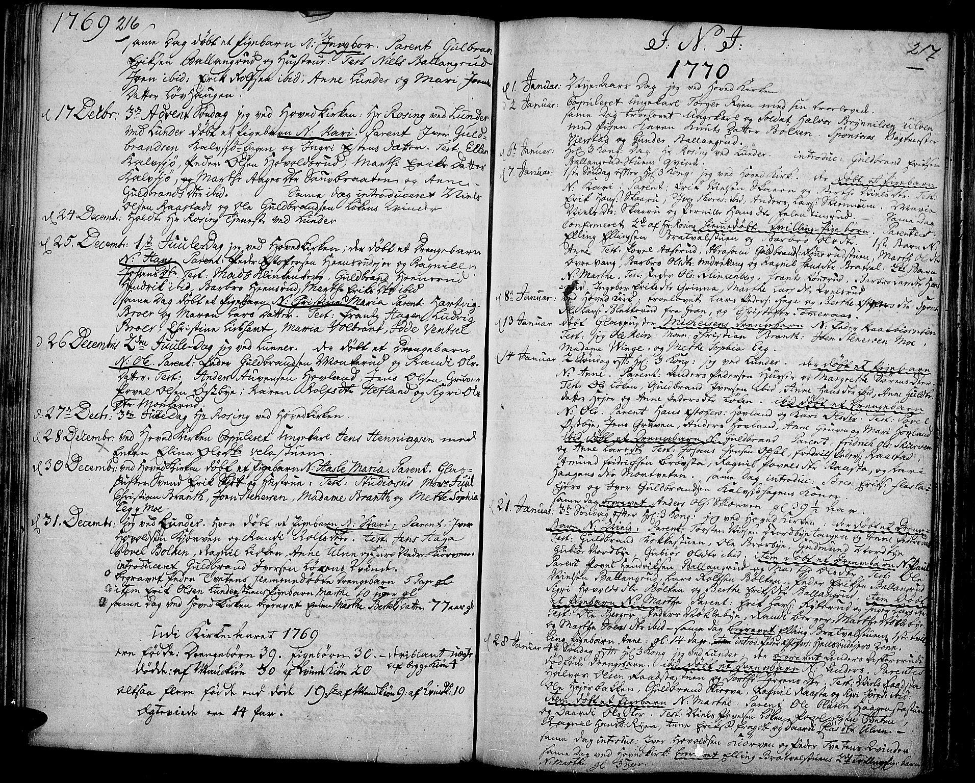 SAH, Jevnaker prestekontor, Ministerialbok nr. 3, 1752-1799, s. 216-217
