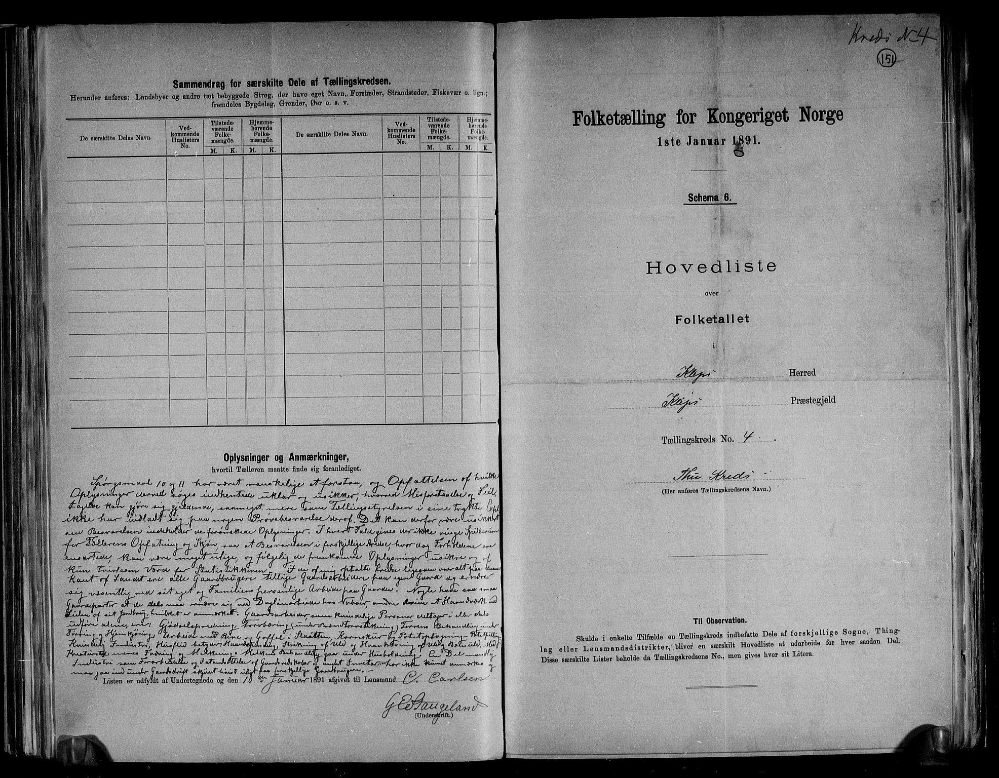 RA, Folketelling 1891 for 1120 Klepp herred, 1891, s. 12
