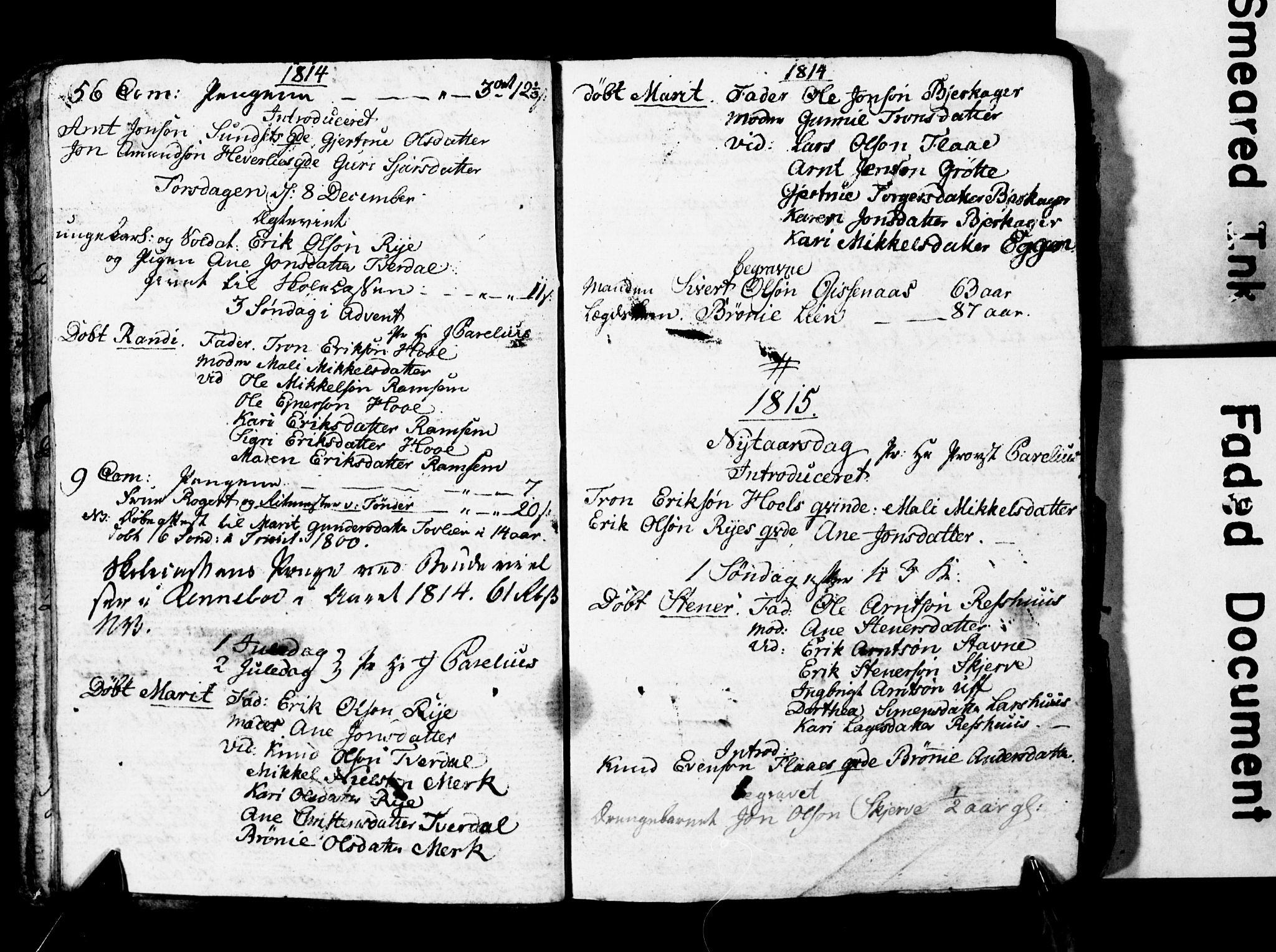 SAT, Ministerialprotokoller, klokkerbøker og fødselsregistre - Sør-Trøndelag, 674/L0881: Klokkerbok nr. 674C08, 1813-1818