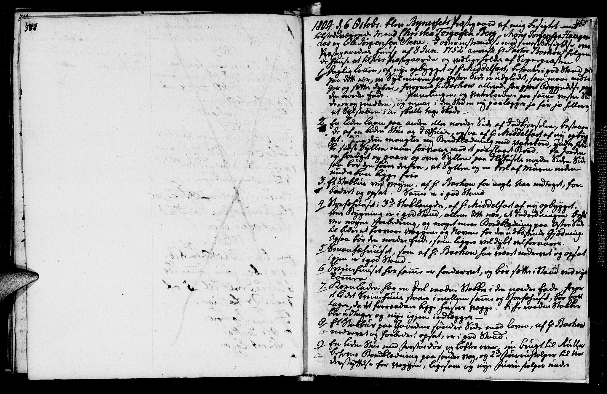 SAT, Ministerialprotokoller, klokkerbøker og fødselsregistre - Sør-Trøndelag, 612/L0371: Ministerialbok nr. 612A05, 1803-1816, s. 338-355