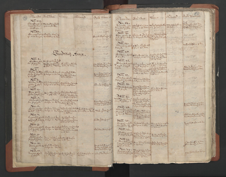 RA, Sogneprestenes manntall 1664-1666, nr. 2: Øvre Borgesyssel prosti, 1664-1666, s. 31-32