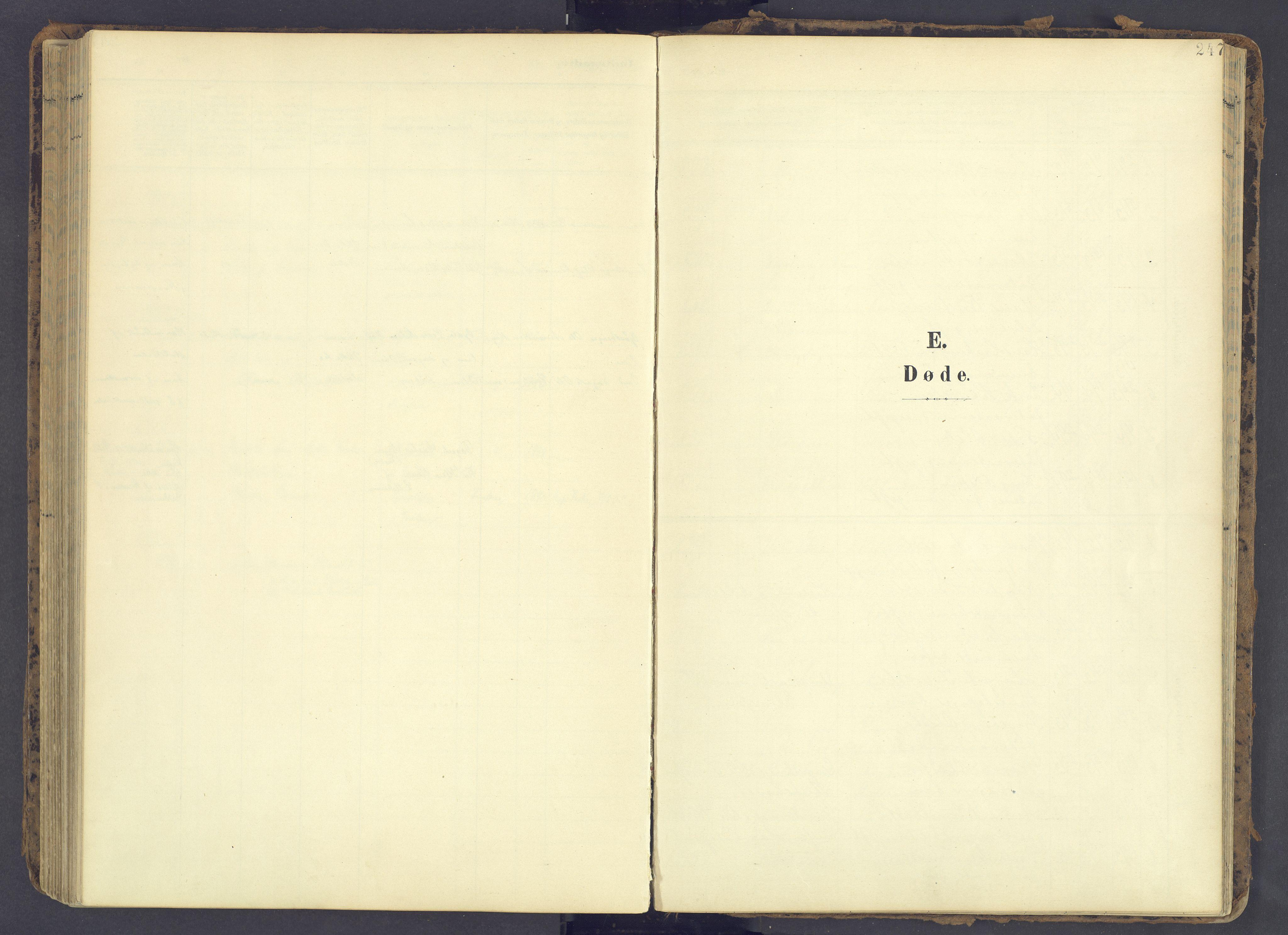 SAH, Fåberg prestekontor, Ministerialbok nr. 12, 1899-1915, s. 247