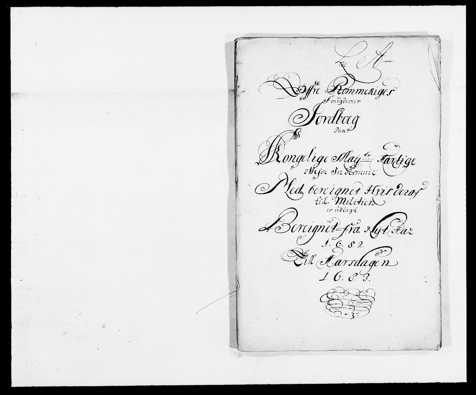 RA, Rentekammeret inntil 1814, Reviderte regnskaper, Fogderegnskap, R12/L0697: Fogderegnskap Øvre Romerike, 1682-1683, s. 10