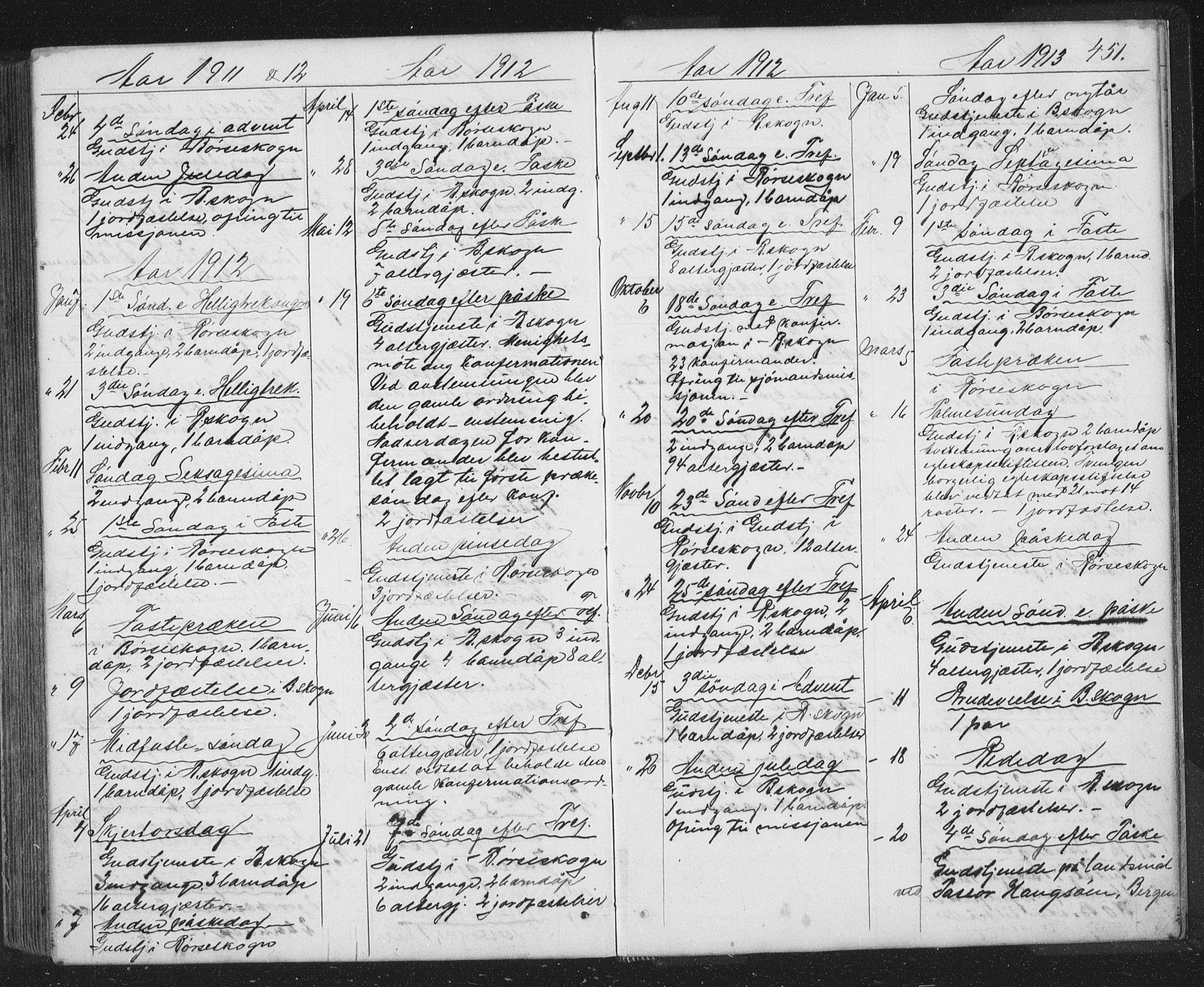 SAT, Ministerialprotokoller, klokkerbøker og fødselsregistre - Sør-Trøndelag, 667/L0798: Klokkerbok nr. 667C03, 1867-1929, s. 451