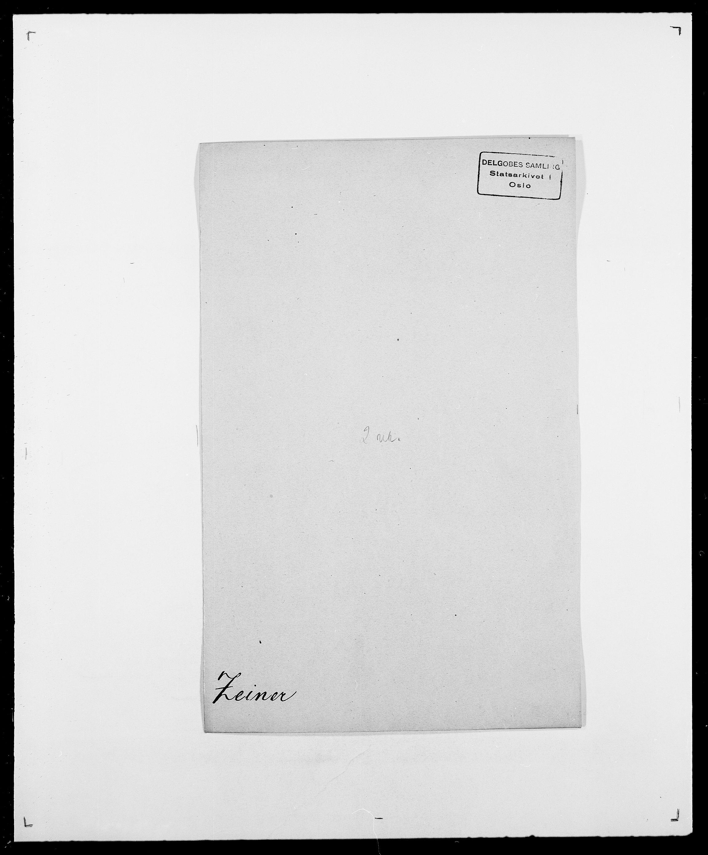 SAO, Delgobe, Charles Antoine - samling, D/Da/L0043: Wulfsberg - v. Zanten, s. 105