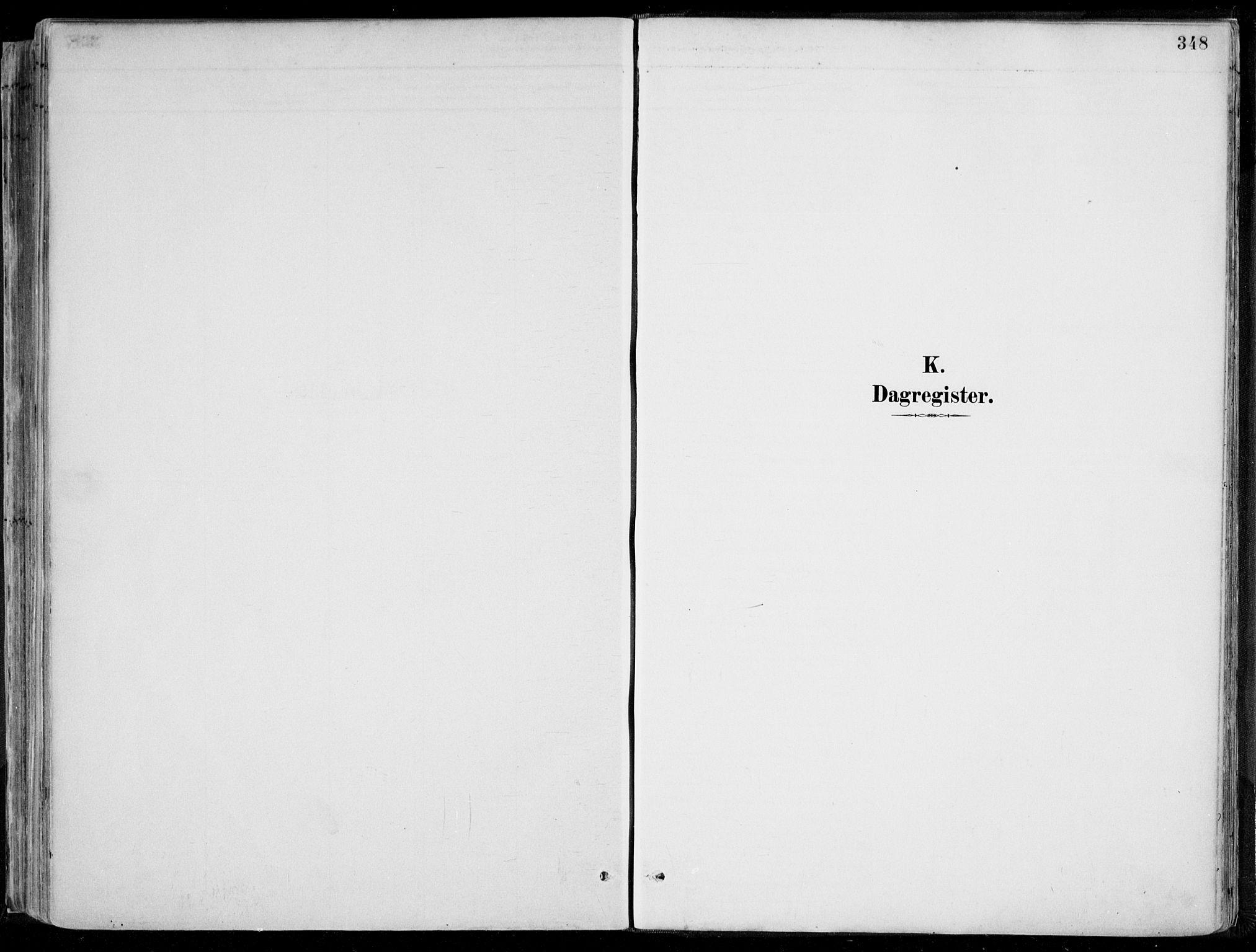 SAK, Øyestad sokneprestkontor, F/Fa/L0017: Ministerialbok nr. A 17, 1887-1896, s. 348