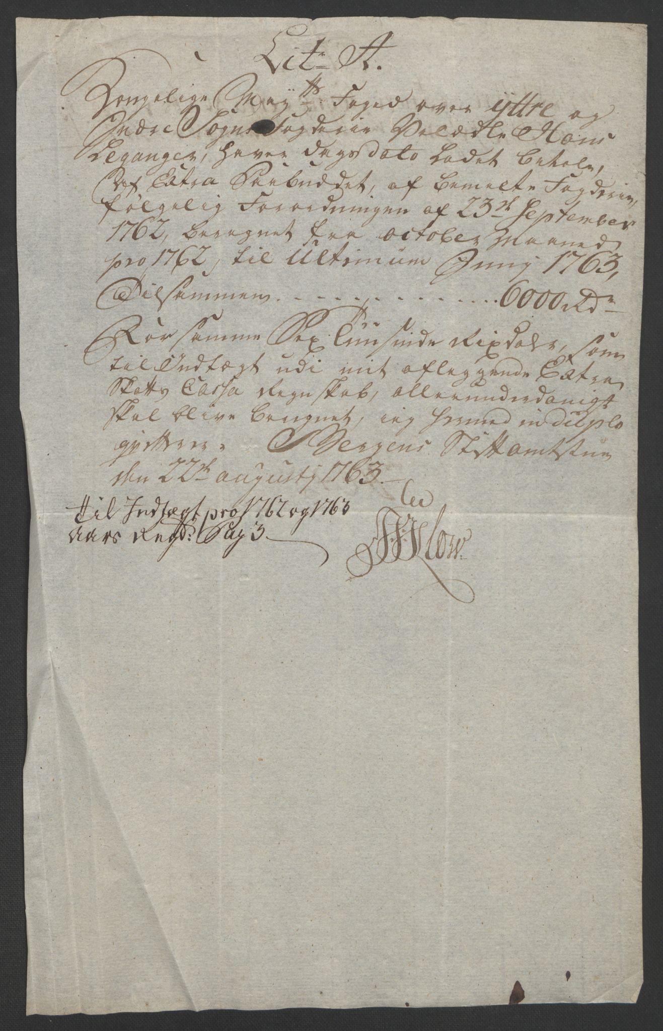 RA, Rentekammeret inntil 1814, Realistisk ordnet avdeling, Ol/L0018: [Gg 10]: Ekstraskatten, 23.09.1762. Sogn, 1762-1772, s. 82