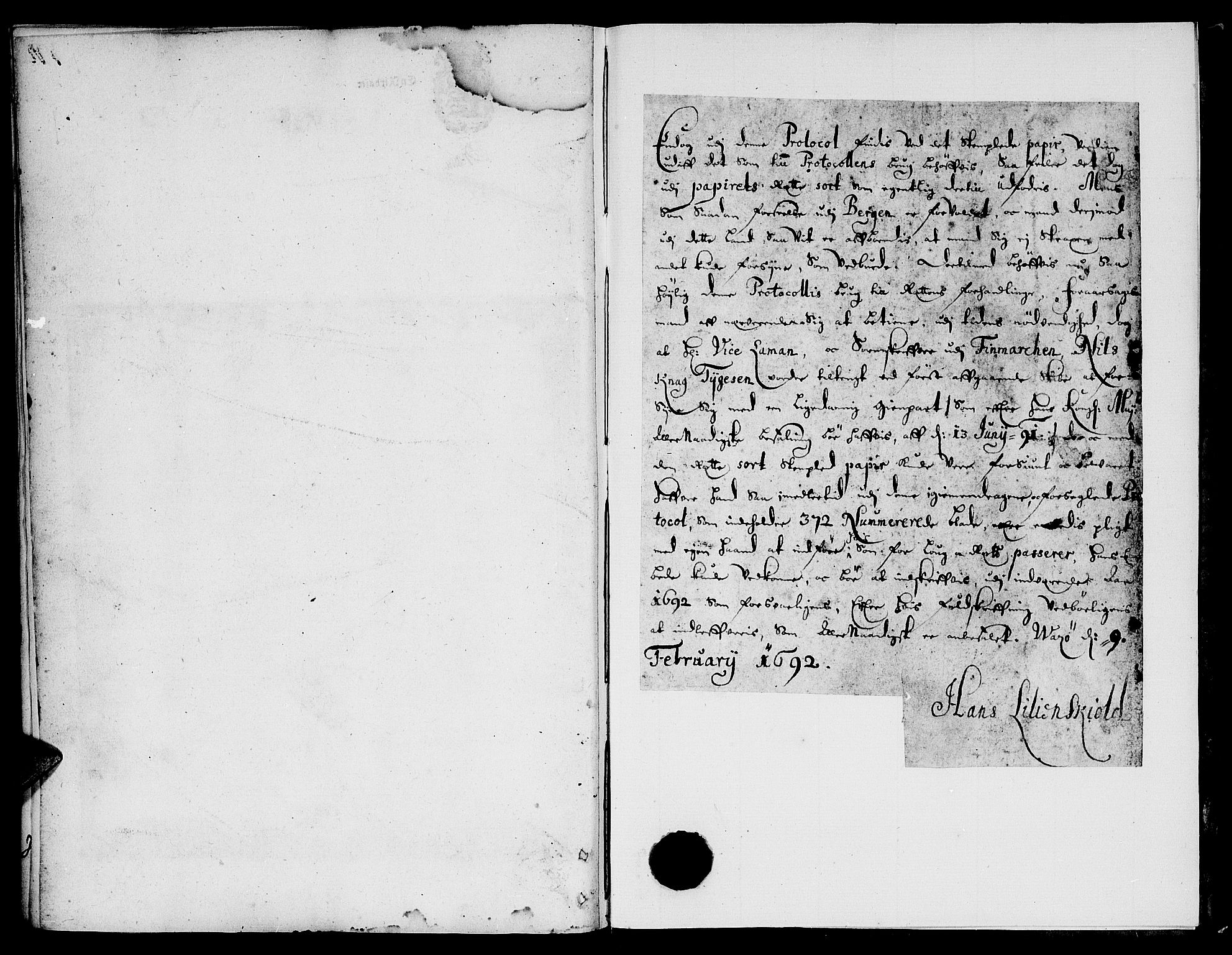 SATØ, Finnmark sorenskriveri, F/Fa/L0025: Justisprotokoller, 1692-1695, s. 328b-329a