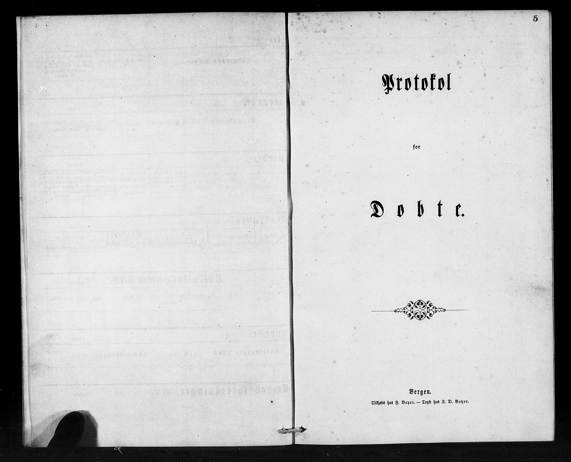 SAB, Den Norske Sjømannsmisjon i utlandet*, Ministerialbok nr. A 1, 1873-1889, s. 5