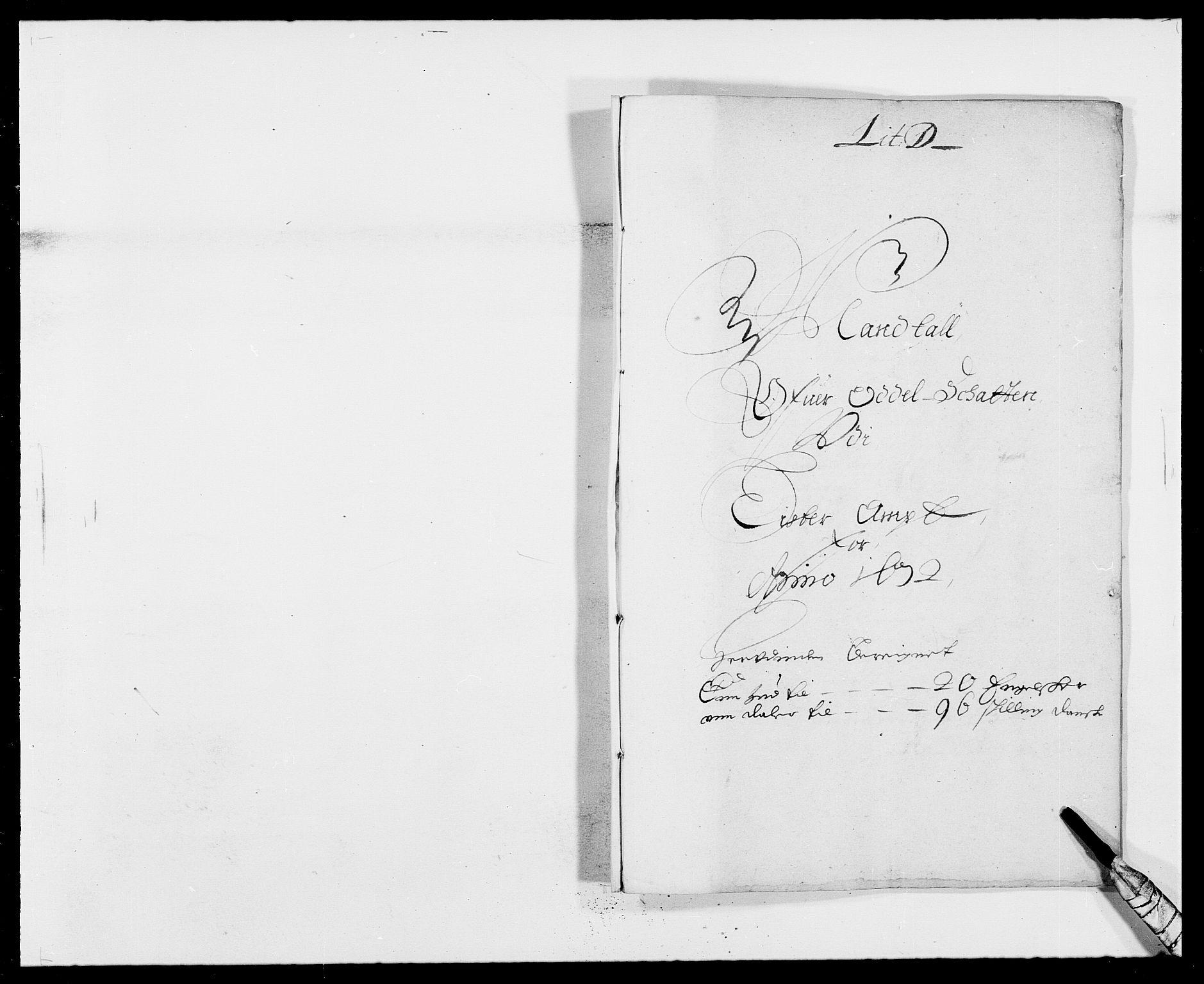 RA, Rentekammeret inntil 1814, Reviderte regnskaper, Fogderegnskap, R41/L2526: Fogderegnskap Lista, 1672, s. 128