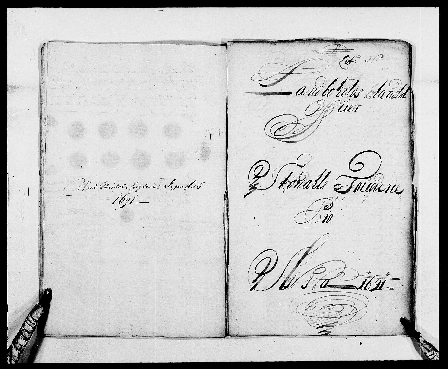 RA, Rentekammeret inntil 1814, Reviderte regnskaper, Fogderegnskap, R62/L4184: Fogderegnskap Stjørdal og Verdal, 1690-1691, s. 417