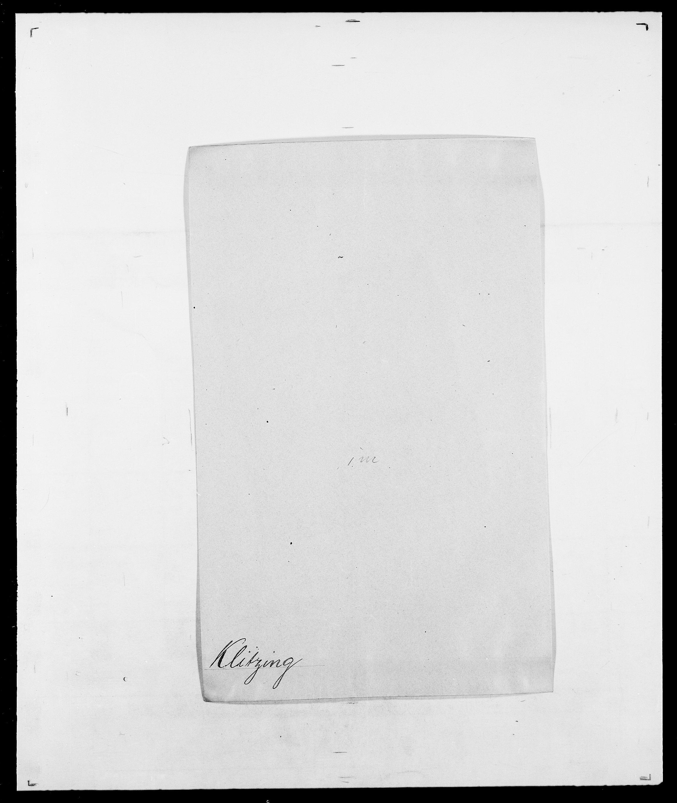 SAO, Delgobe, Charles Antoine - samling, D/Da/L0021: Klagenberg - Kristoft, s. 139