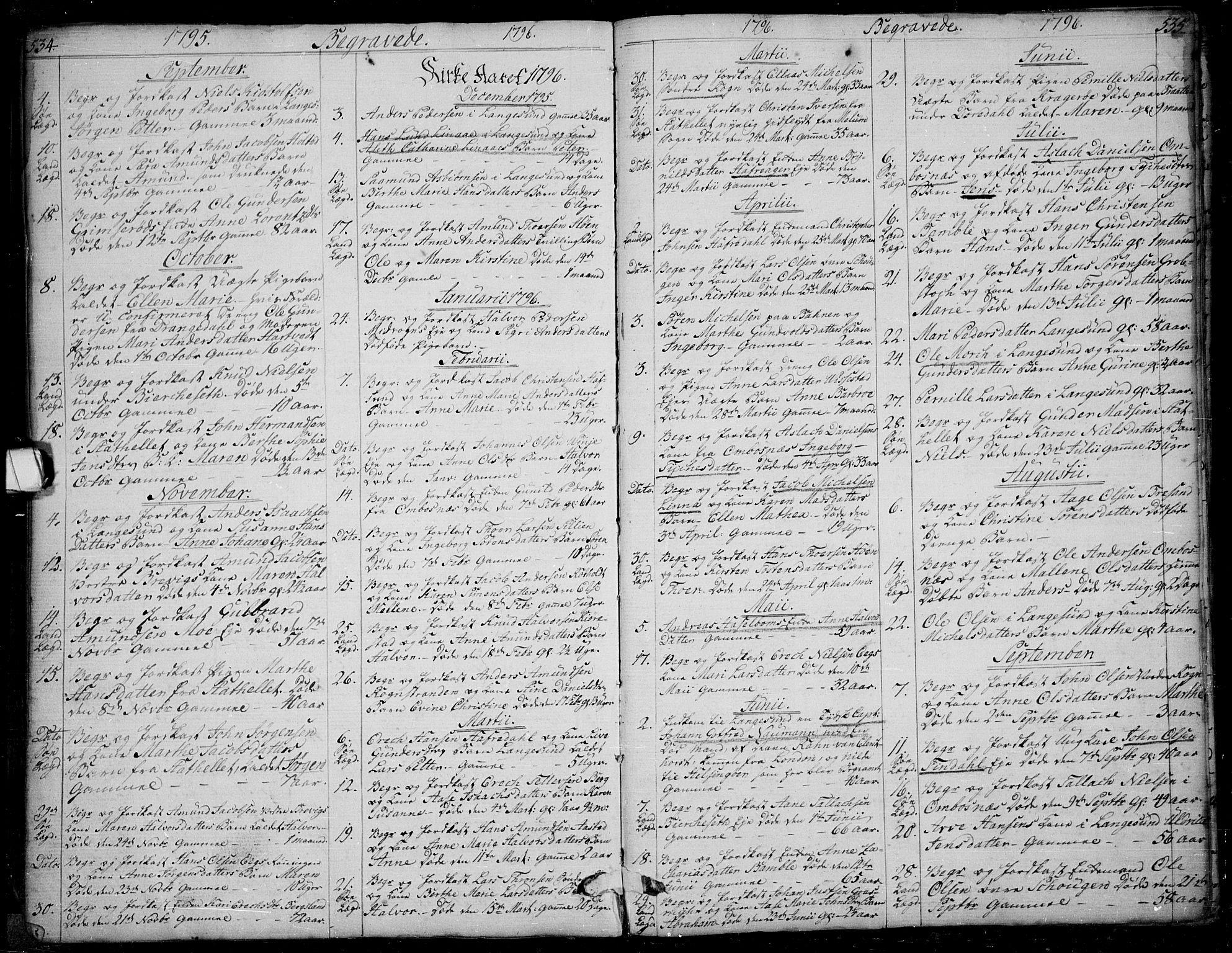 SAKO, Bamble kirkebøker, F/Fa/L0002: Ministerialbok nr. I 2, 1775-1814, s. 534-535