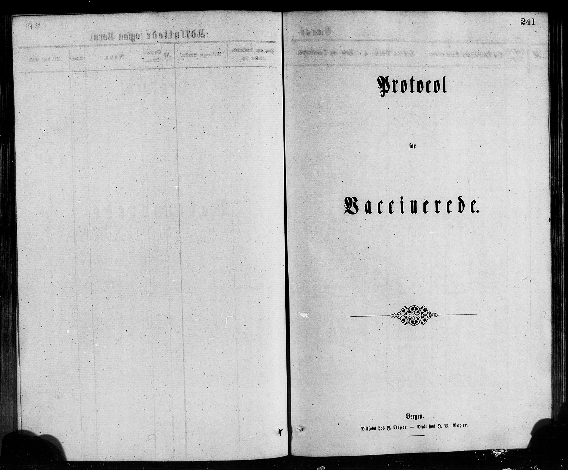 SAB, Bremanger Sokneprestembete, H/Hab: Klokkerbok nr. A 2, 1866-1889, s. 241