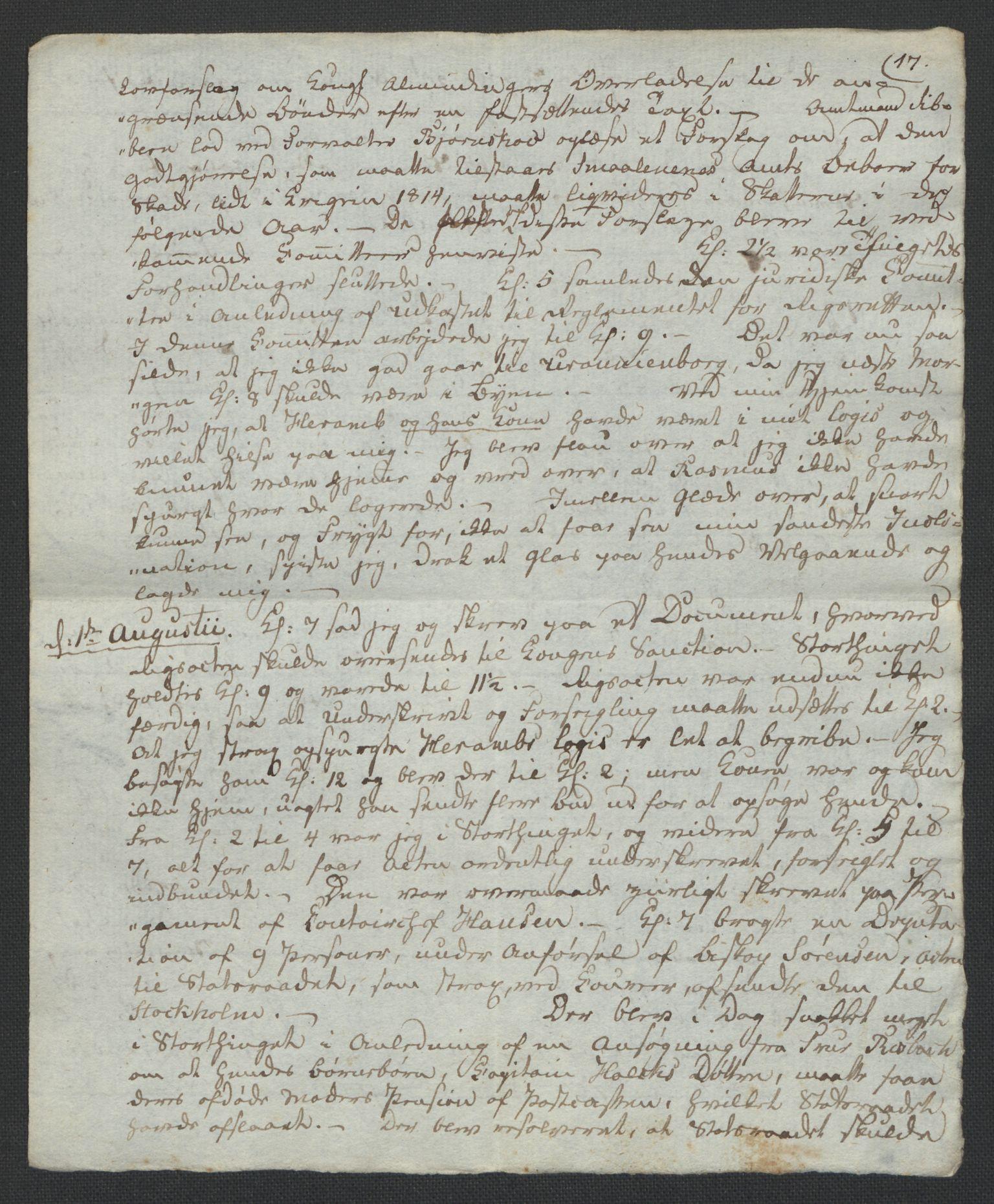 RA, Christie, Wilhelm Frimann Koren, F/L0005, 1815-1816, s. 54