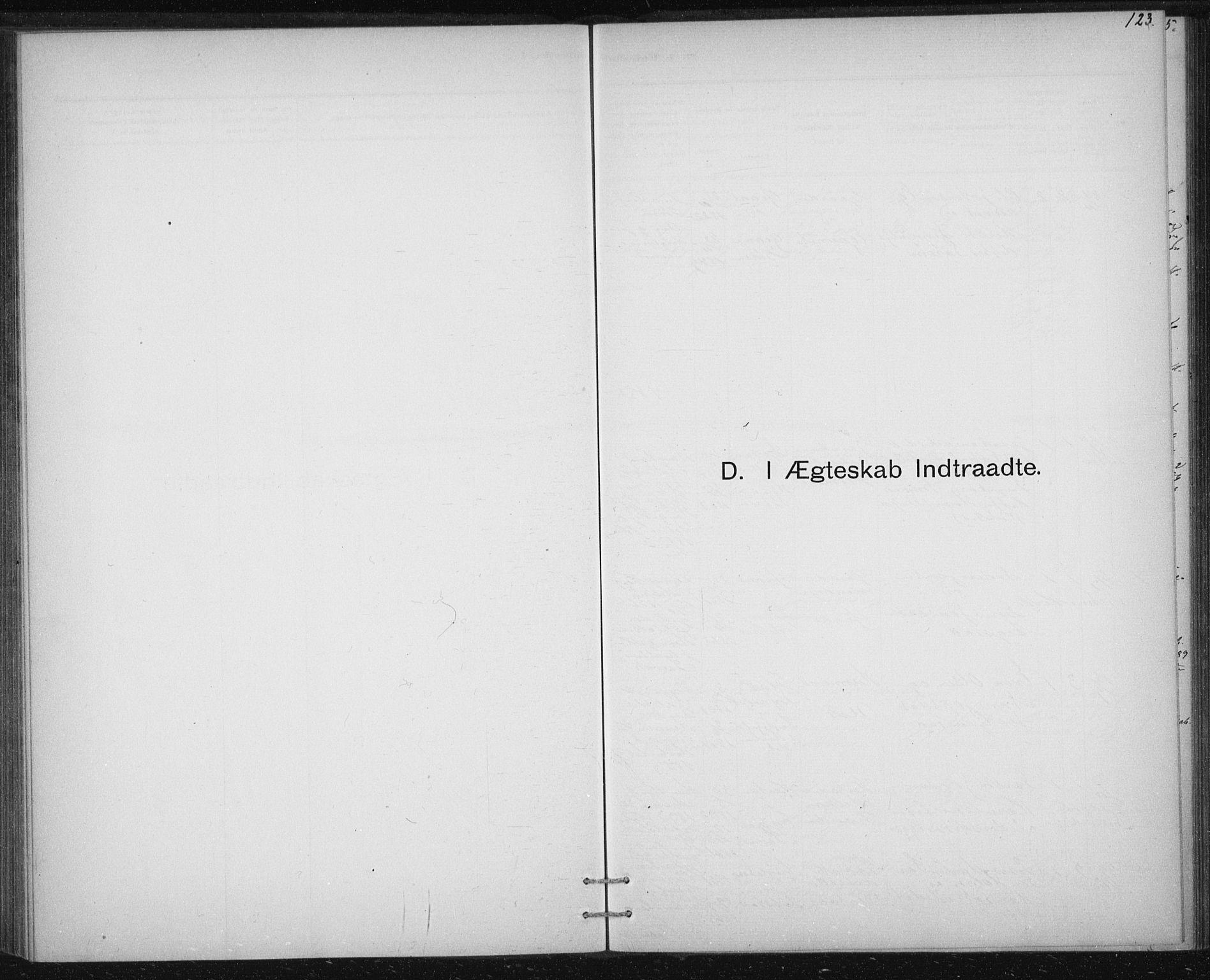 SAT, Ministerialprotokoller, klokkerbøker og fødselsregistre - Sør-Trøndelag, 613/L0392: Ministerialbok nr. 613A01, 1887-1906, s. 123