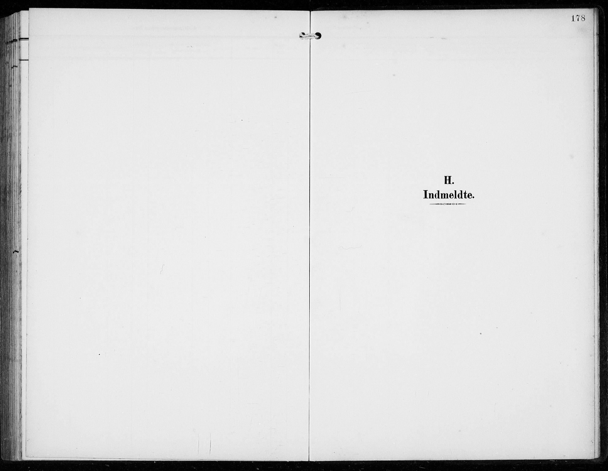 SAB, Ullensvang Sokneprestembete, H/Hab: Klokkerbok nr. F  1, 1902-1935, s. 178