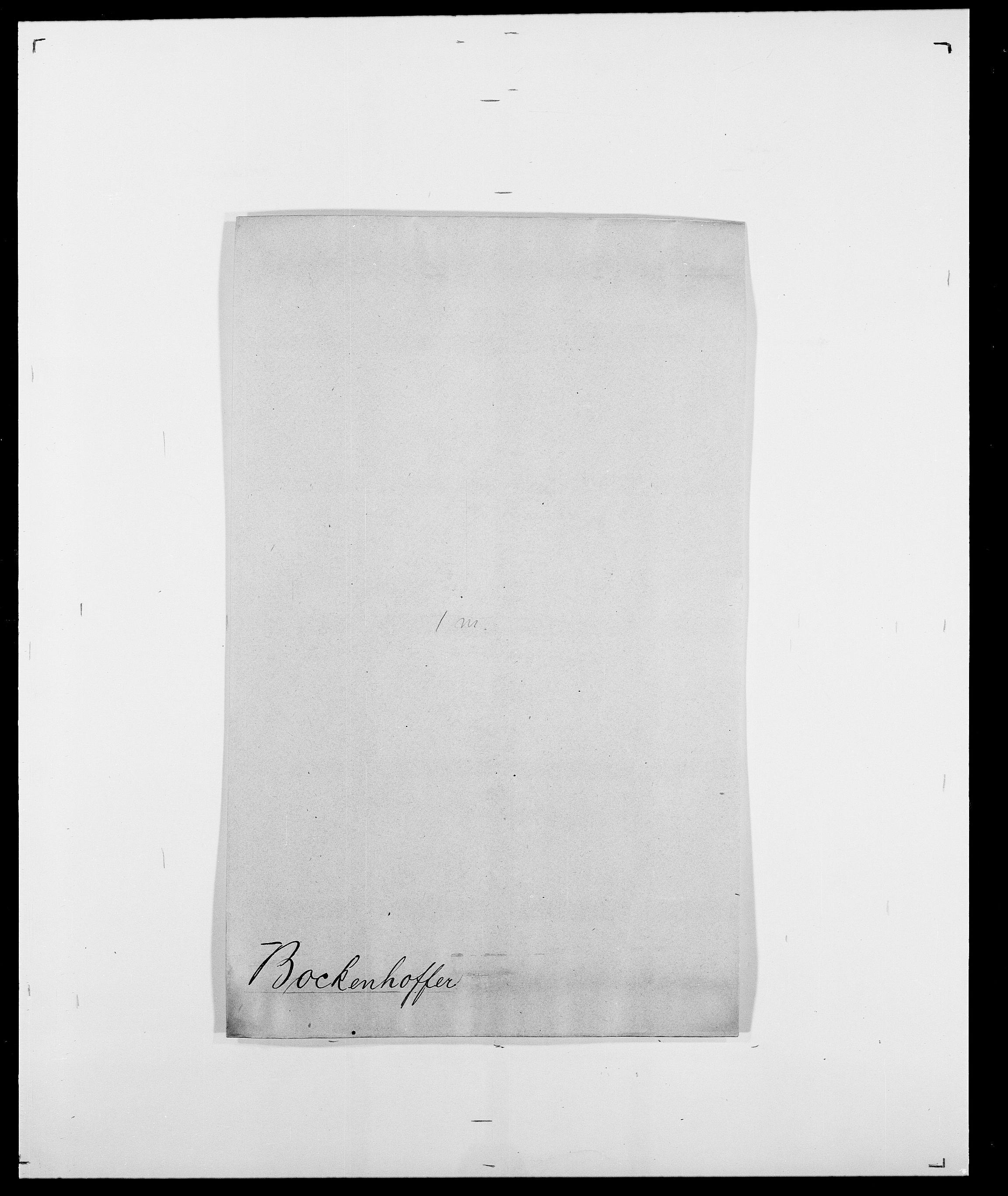 SAO, Delgobe, Charles Antoine - samling, D/Da/L0005: Boalth - Brahm, s. 9