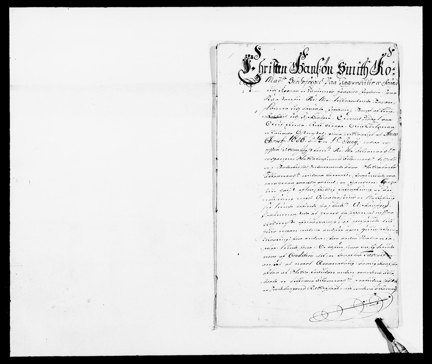 RA, Rentekammeret inntil 1814, Reviderte regnskaper, Fogderegnskap, R08/L0422: Fogderegnskap Aker, 1684-1686, s. 21