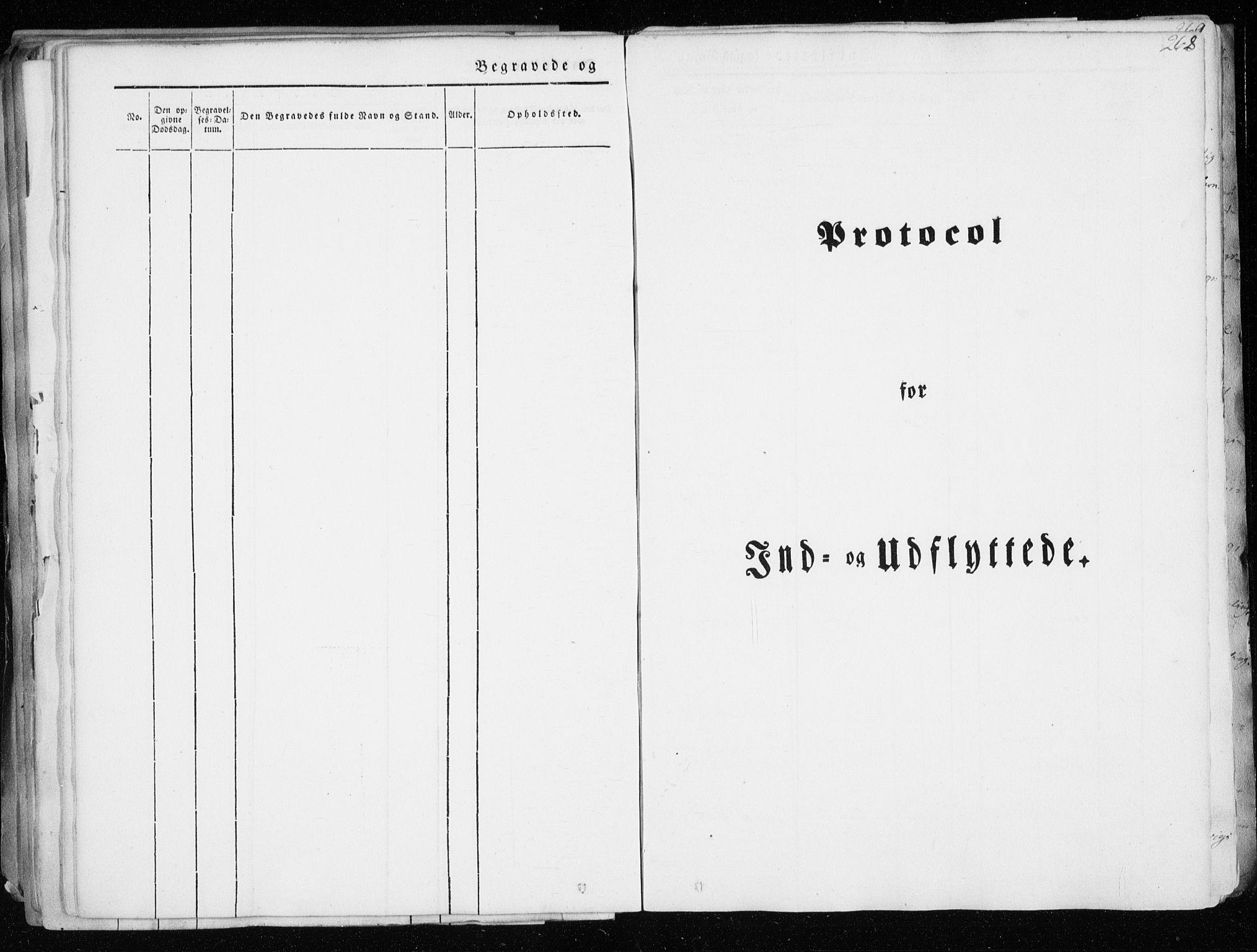 SATØ, Tranøy sokneprestkontor, I/Ia/Iaa/L0006kirke: Ministerialbok nr. 6, 1844-1855, s. 268