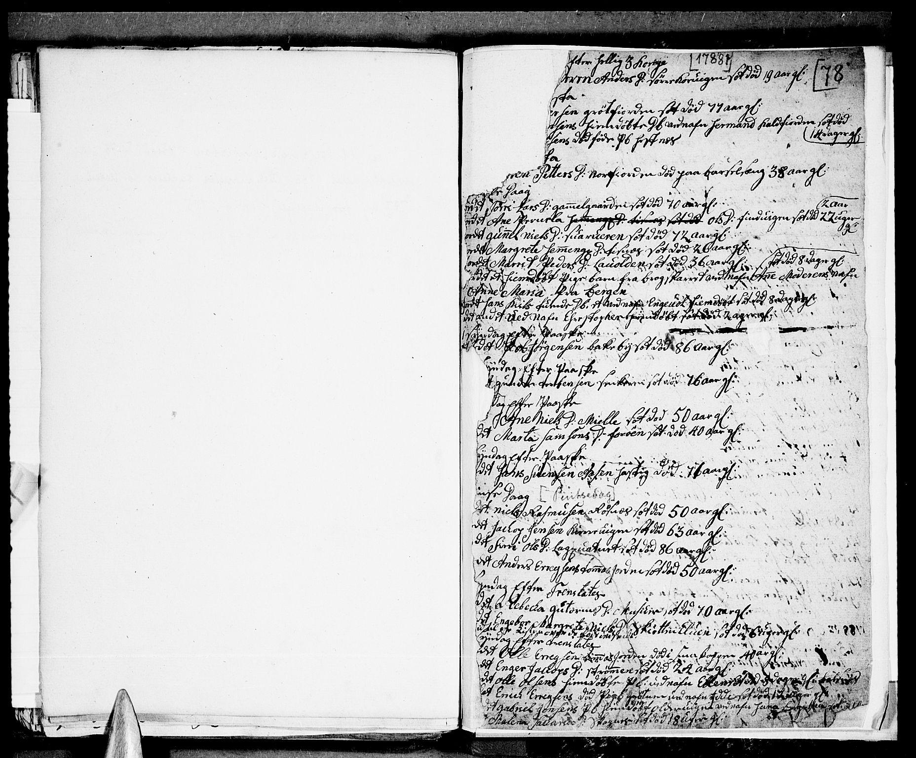 SATØ, Tromsø sokneprestkontor/stiftsprosti/domprosti, G/Ga/L0004kirke: Ministerialbok nr. 4, 1787-1795, s. 78