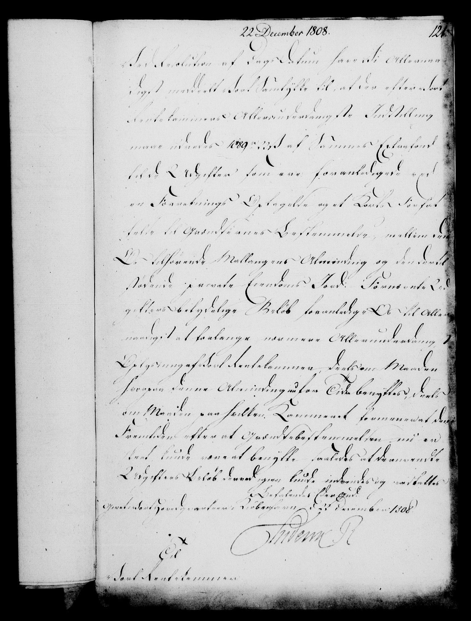 RA, Rentekammeret, Kammerkanselliet, G/Gf/Gfa/L0090: Norsk relasjons- og resolusjonsprotokoll (merket RK 52.90), 1808, s. 586