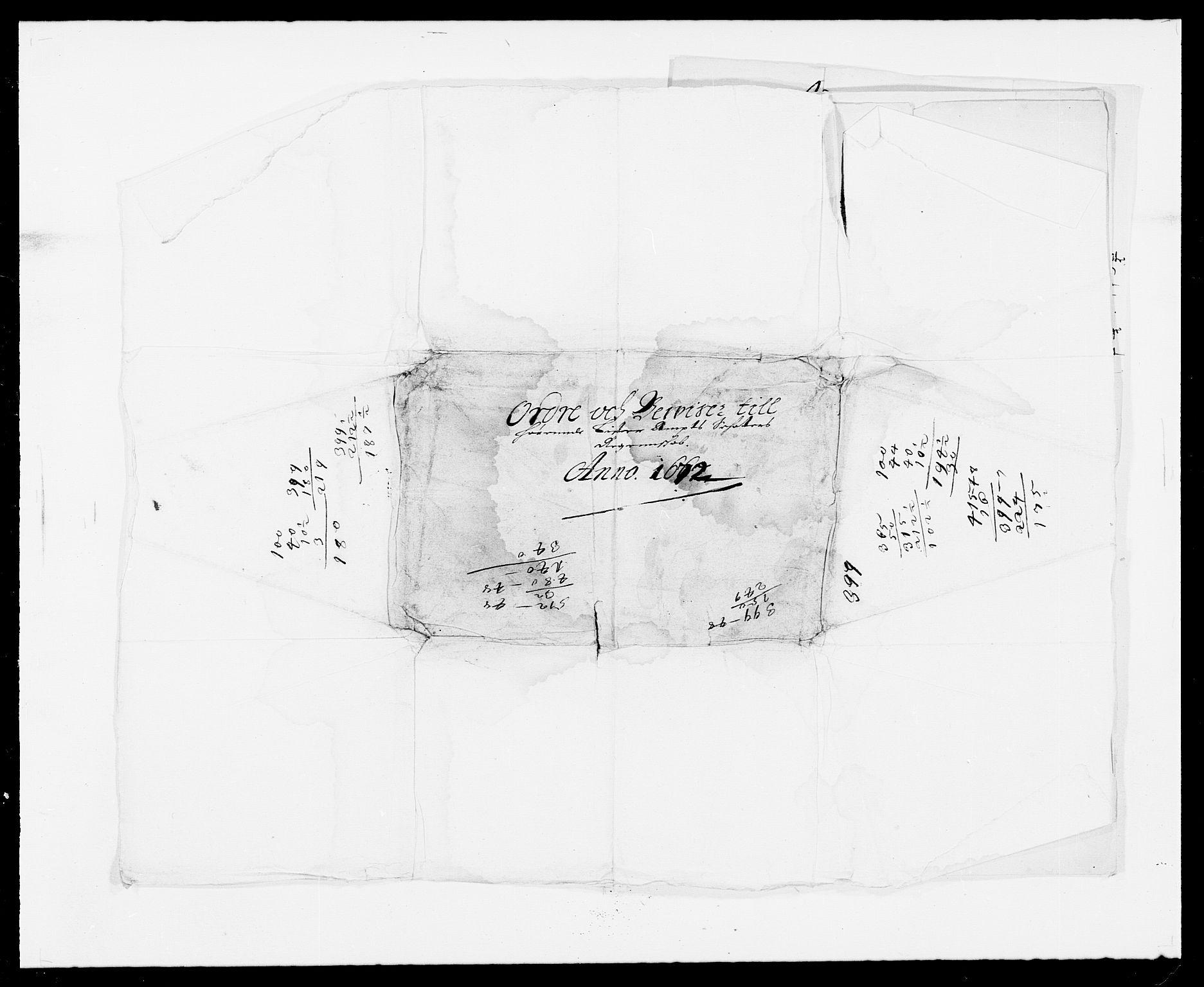 RA, Rentekammeret inntil 1814, Reviderte regnskaper, Fogderegnskap, R41/L2526: Fogderegnskap Lista, 1672, s. 149