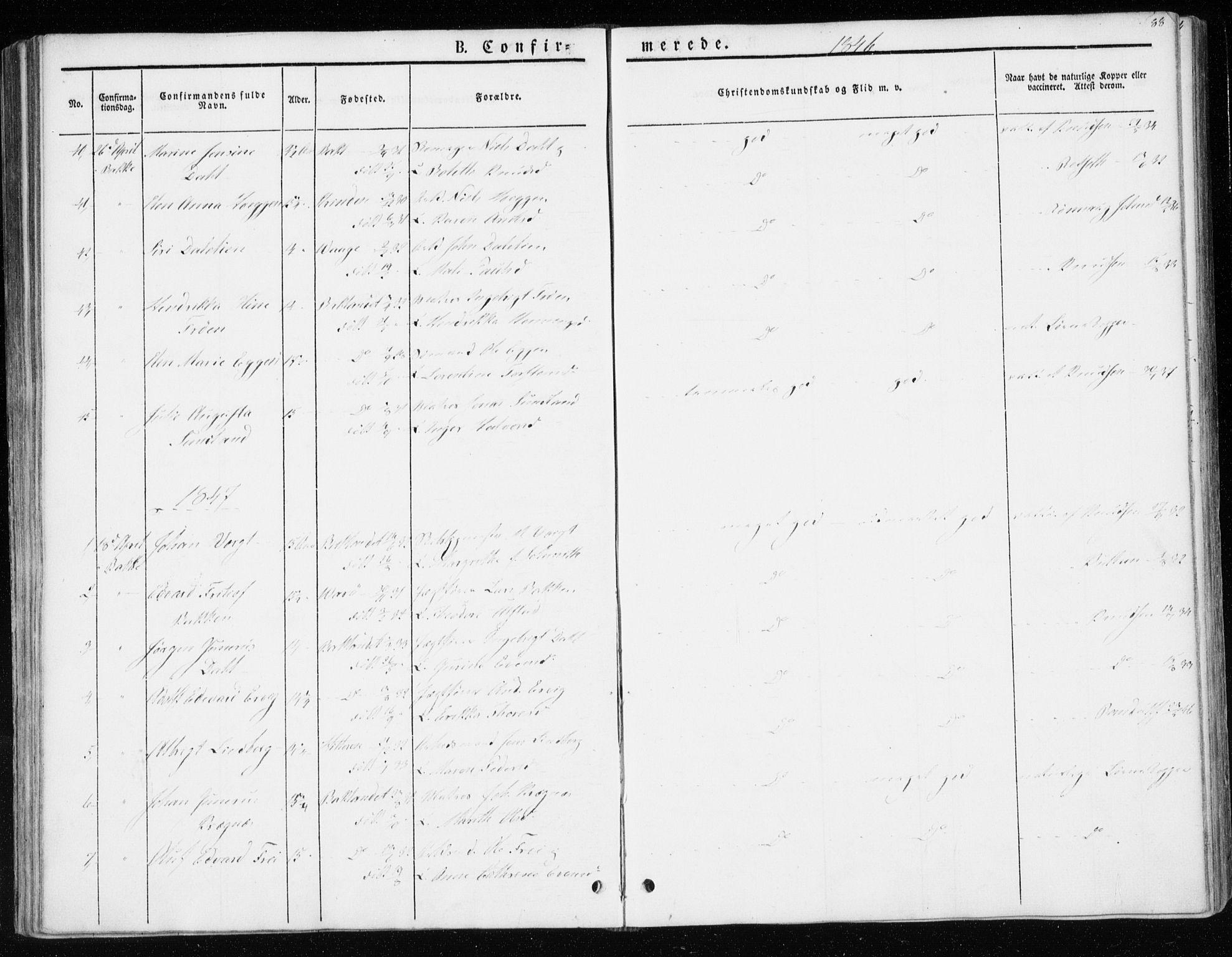 SAT, Ministerialprotokoller, klokkerbøker og fødselsregistre - Sør-Trøndelag, 604/L0183: Ministerialbok nr. 604A04, 1841-1850, s. 88