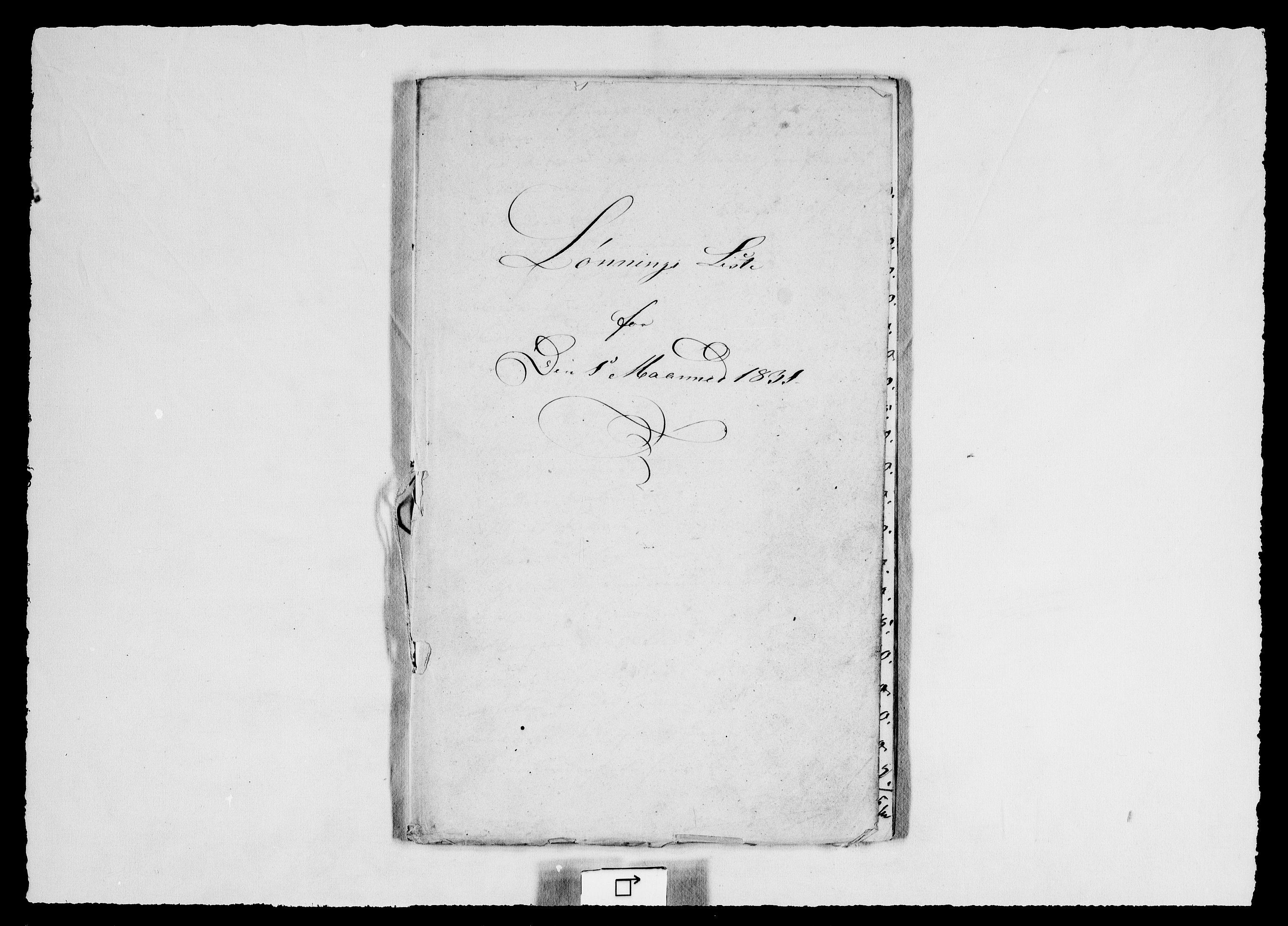 RA, Modums Blaafarveværk, G/Gd/Gdd/L0295, 1831, s. 2