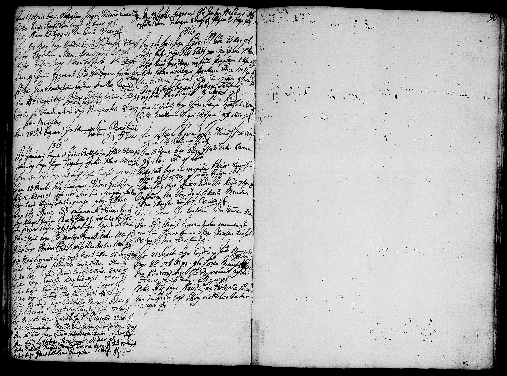 SAT, Ministerialprotokoller, klokkerbøker og fødselsregistre - Møre og Romsdal, 555/L0650: Ministerialbok nr. 555A02 /2, 1798-1821, s. 90