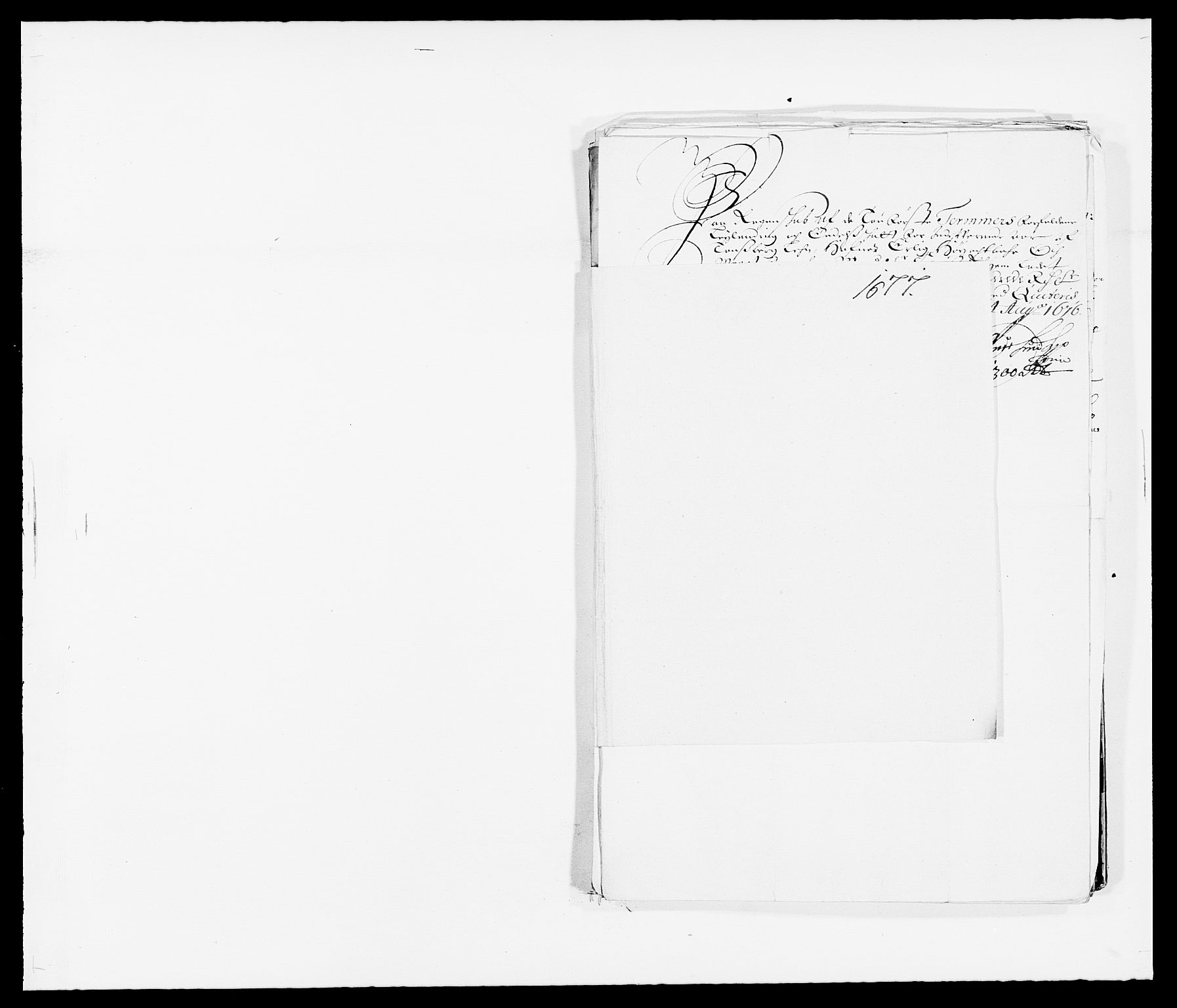 RA, Rentekammeret inntil 1814, Reviderte regnskaper, Fogderegnskap, R32/L1845: Fogderegnskap Jarlsberg grevskap, 1676-1678, s. 408