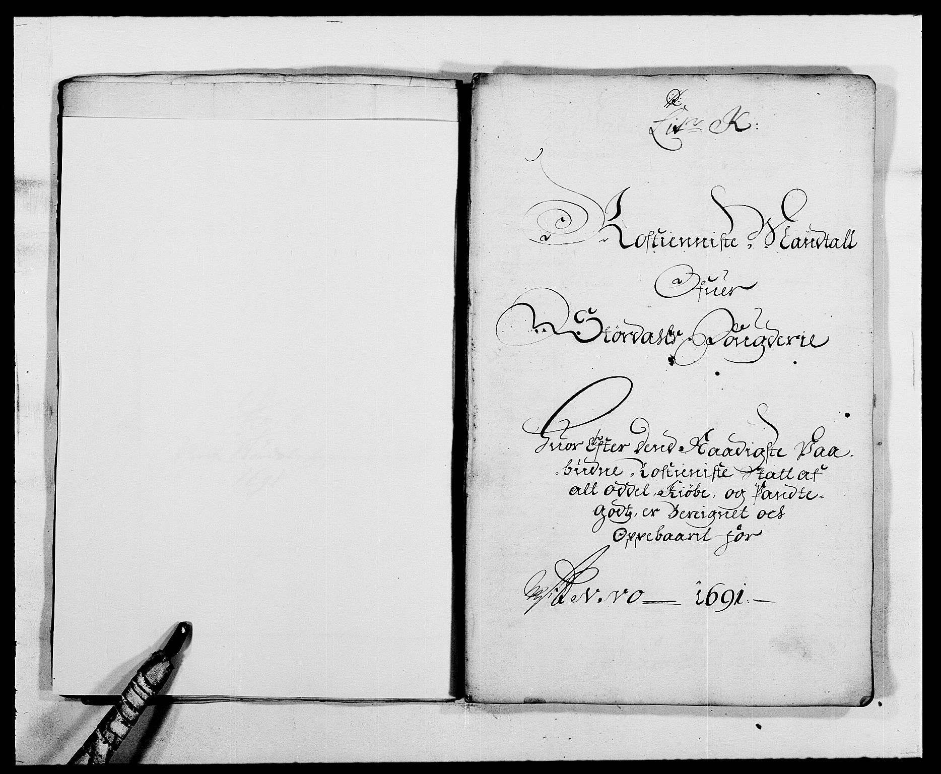 RA, Rentekammeret inntil 1814, Reviderte regnskaper, Fogderegnskap, R62/L4184: Fogderegnskap Stjørdal og Verdal, 1690-1691, s. 378