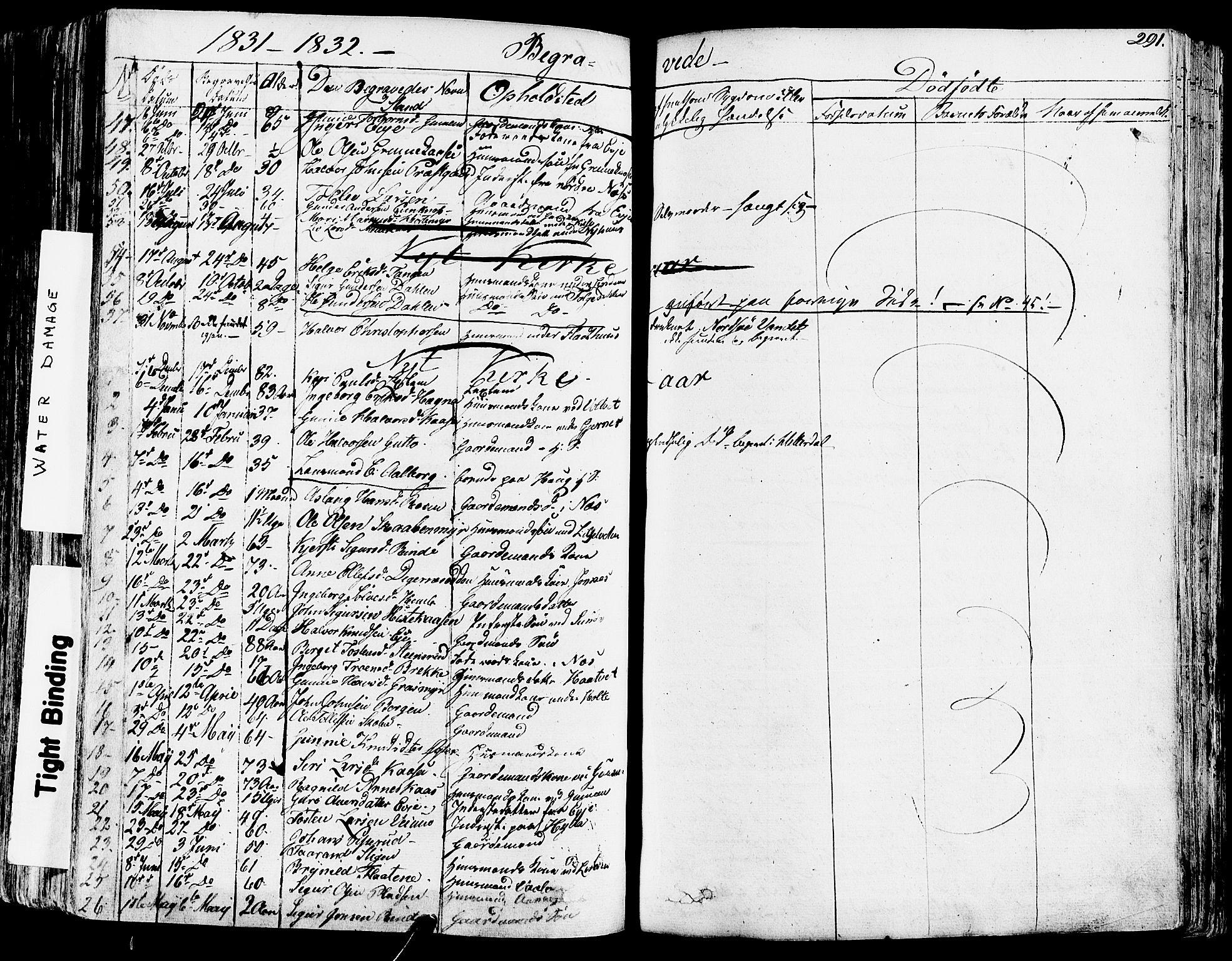 SAKO, Sauherad kirkebøker, F/Fa/L0006: Ministerialbok nr. I 6, 1827-1850, s. 291