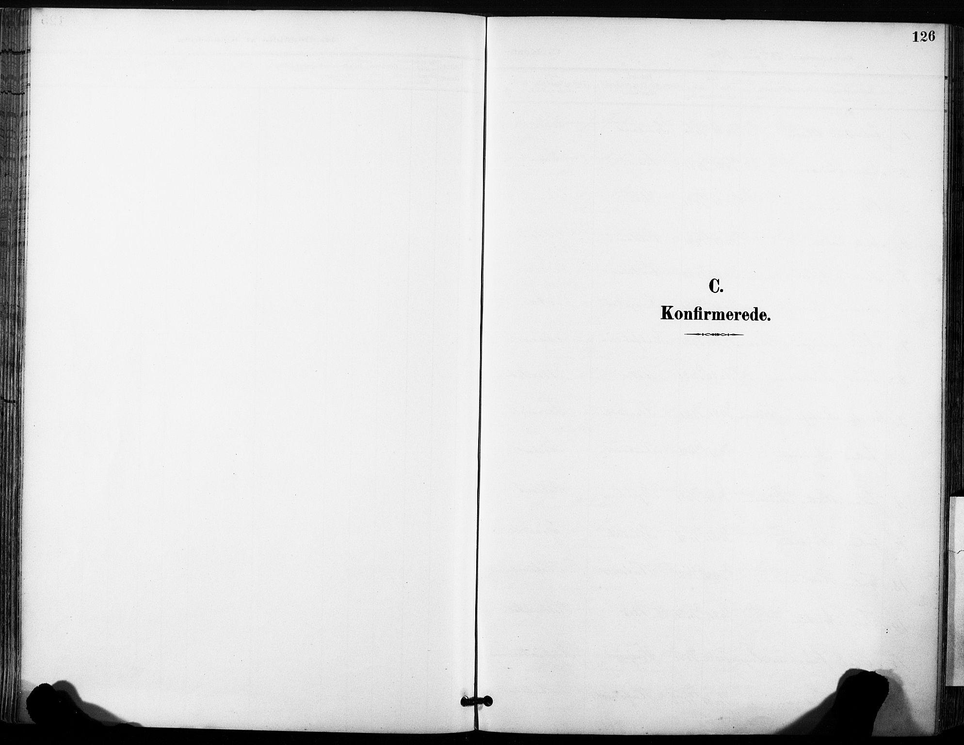 SAT, Ministerialprotokoller, klokkerbøker og fødselsregistre - Sør-Trøndelag, 630/L0497: Ministerialbok nr. 630A10, 1896-1910, s. 126