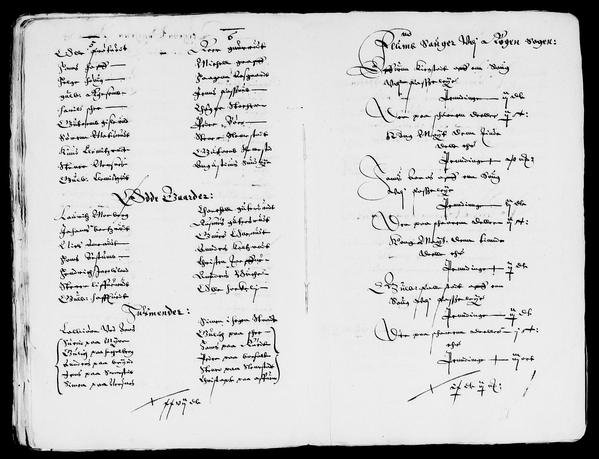 RA, Rentekammeret inntil 1814, Reviderte regnskaper, Lensregnskaper, R/Rb/Rba/L0129: Akershus len, 1636-1637