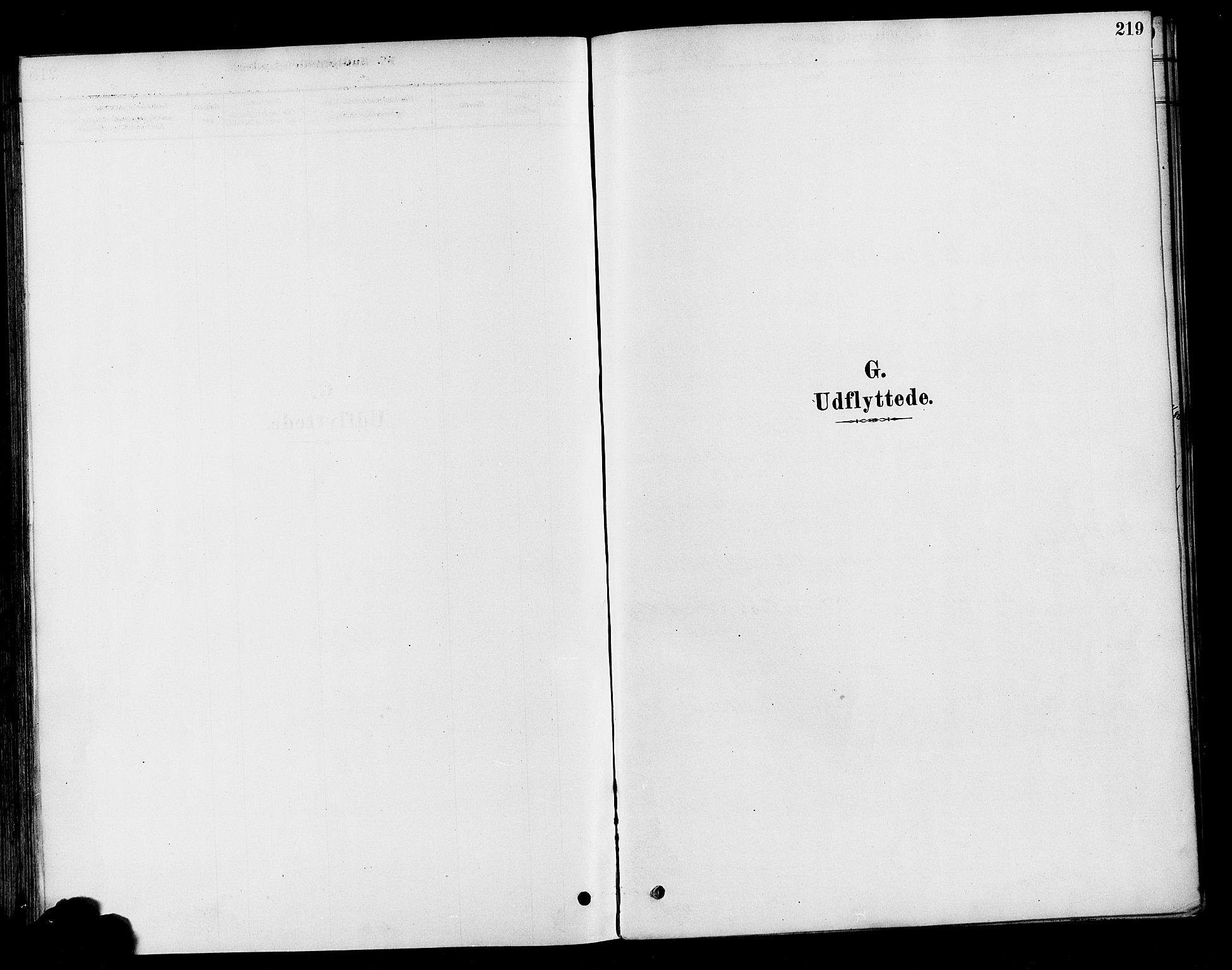 SAH, Vestre Toten prestekontor, Ministerialbok nr. 10, 1878-1894, s. 219
